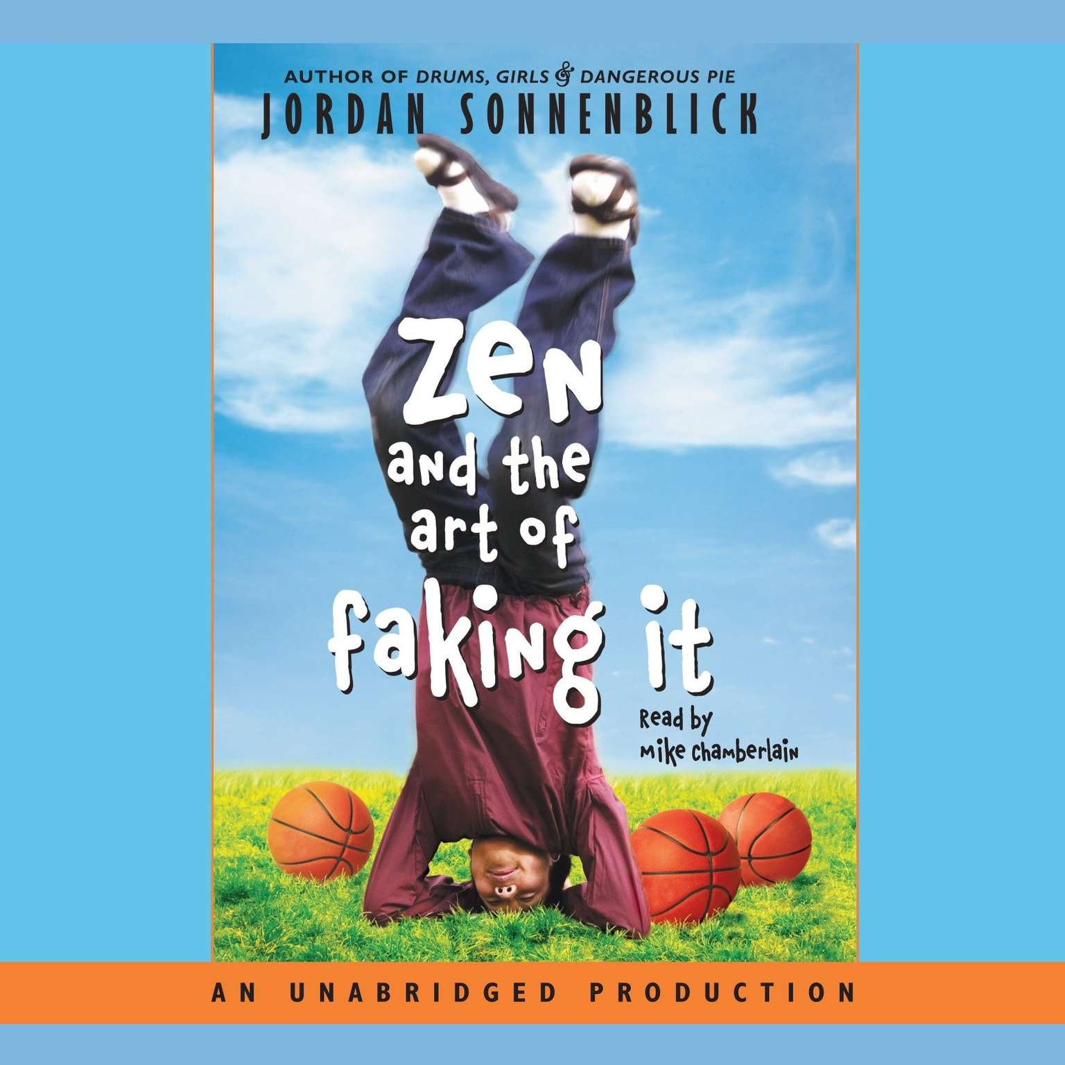 Printable Zen and the Art of Faking It Audiobook Cover Art