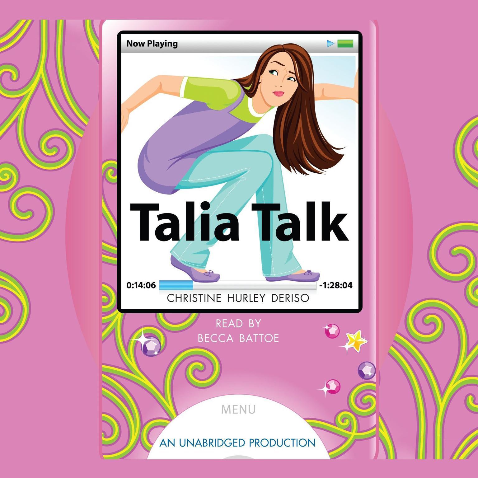 Printable Talia Talk Audiobook Cover Art