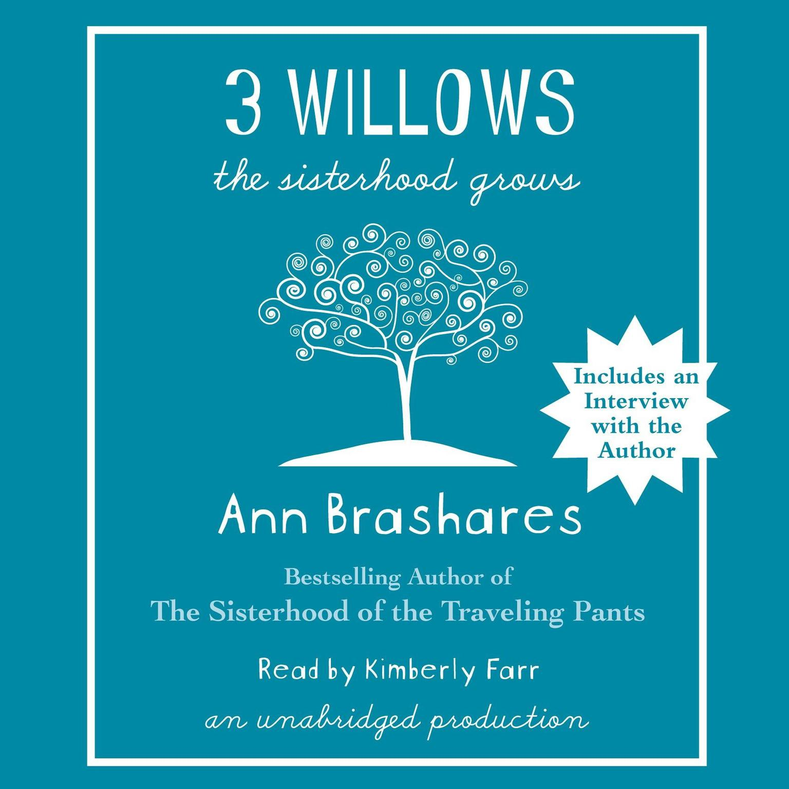 Printable 3 Willows: The Sisterhood Grows Audiobook Cover Art