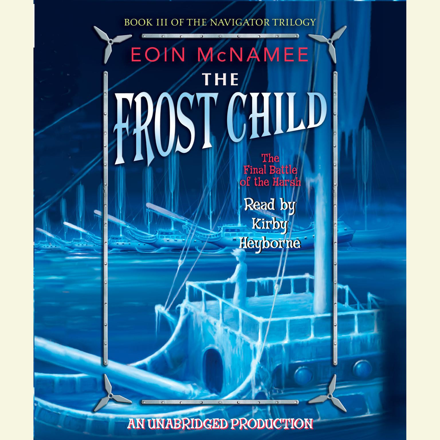 Printable The Frost Child Audiobook Cover Art