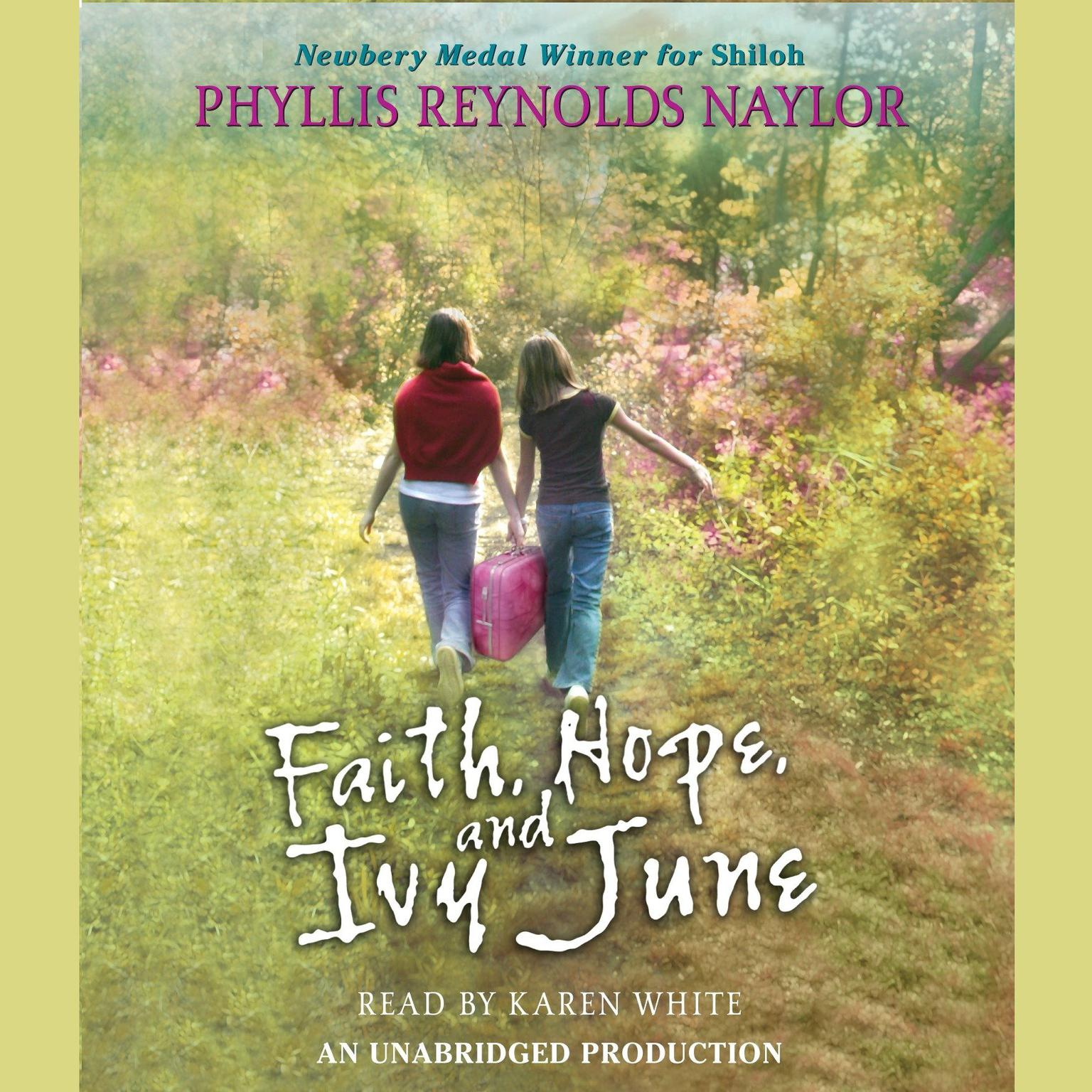 Printable Faith, Hope, and Ivy June Audiobook Cover Art