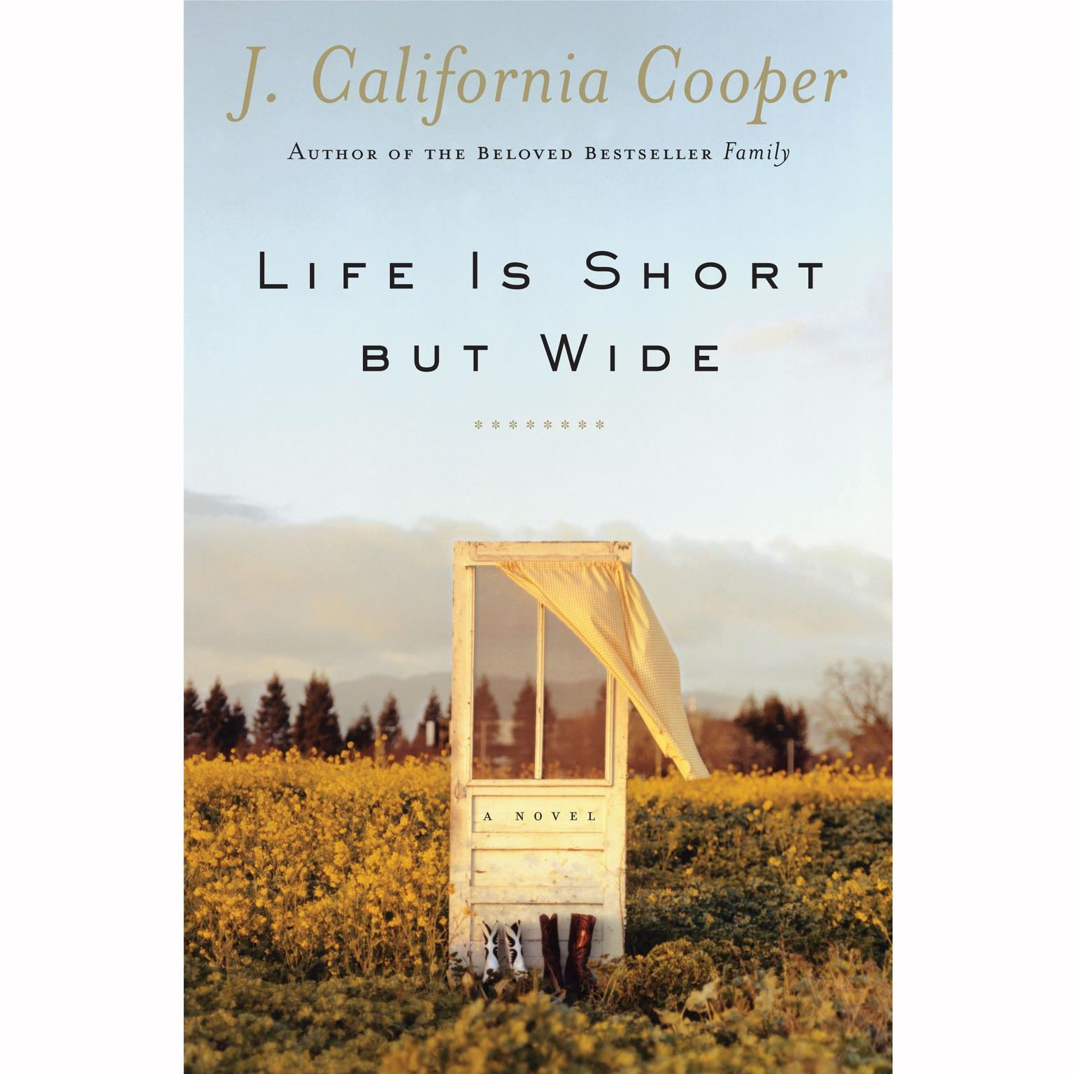 Printable Life is Short but Wide Audiobook Cover Art