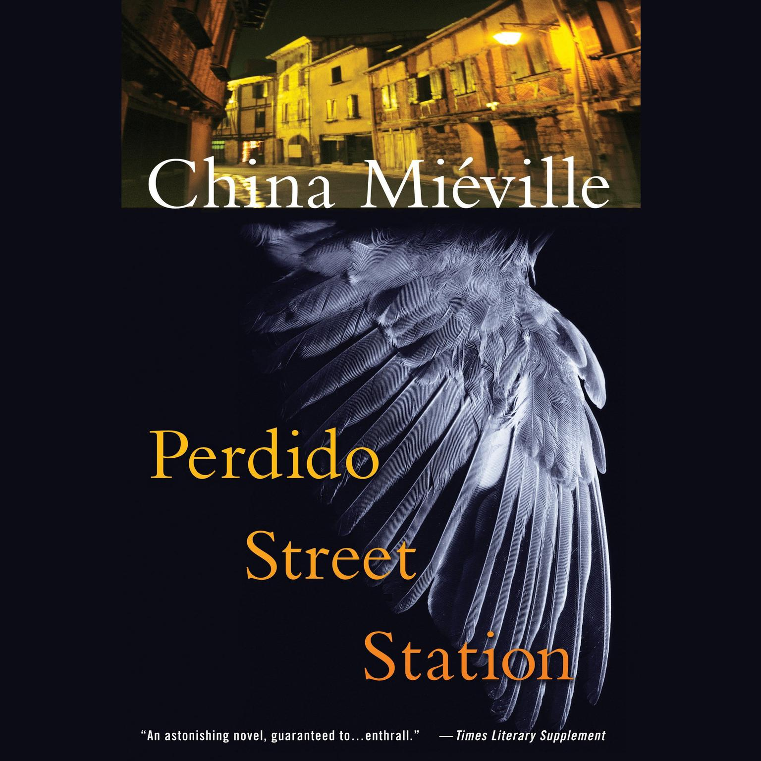 Printable Perdido Street Station Audiobook Cover Art