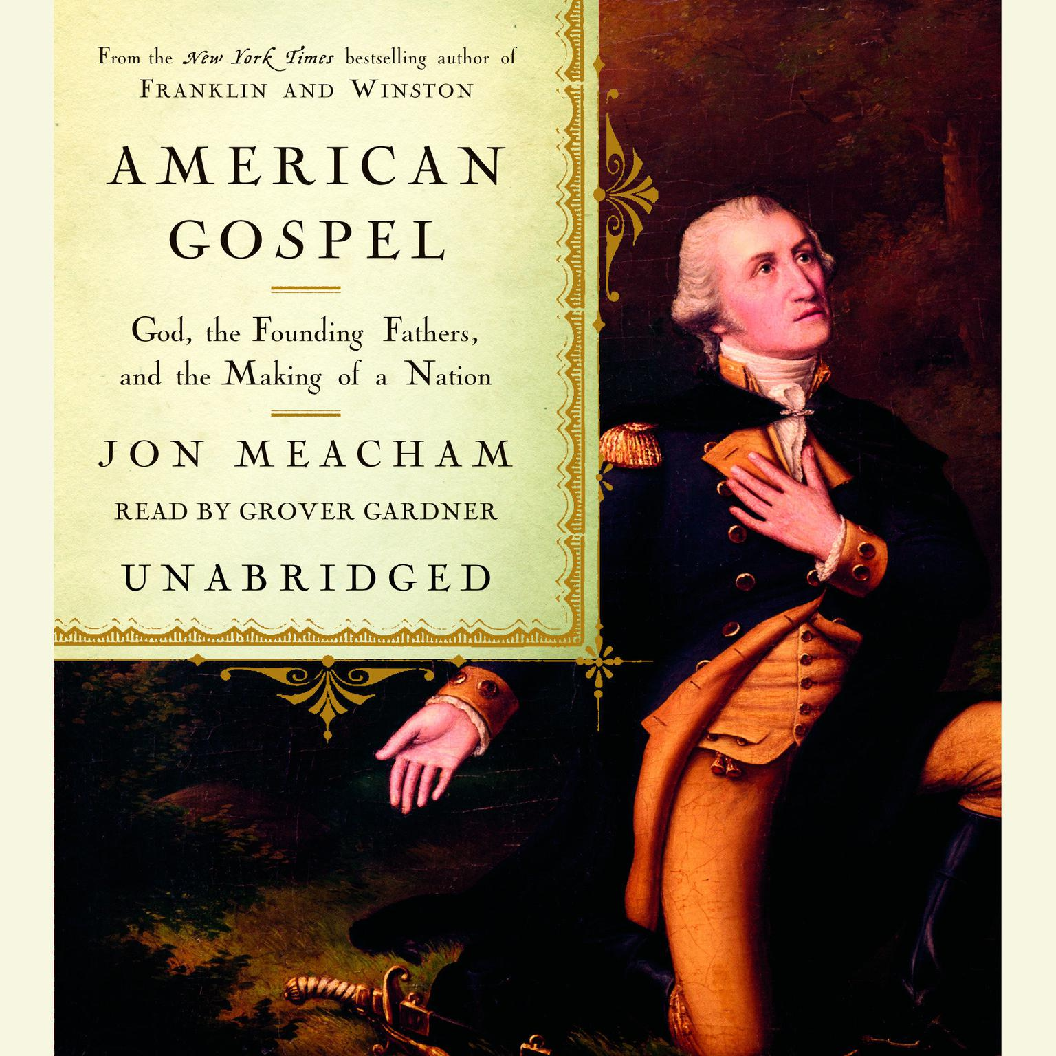 Printable American Gospel: God, the Founding Fathers, and the Making of a Nation Audiobook Cover Art