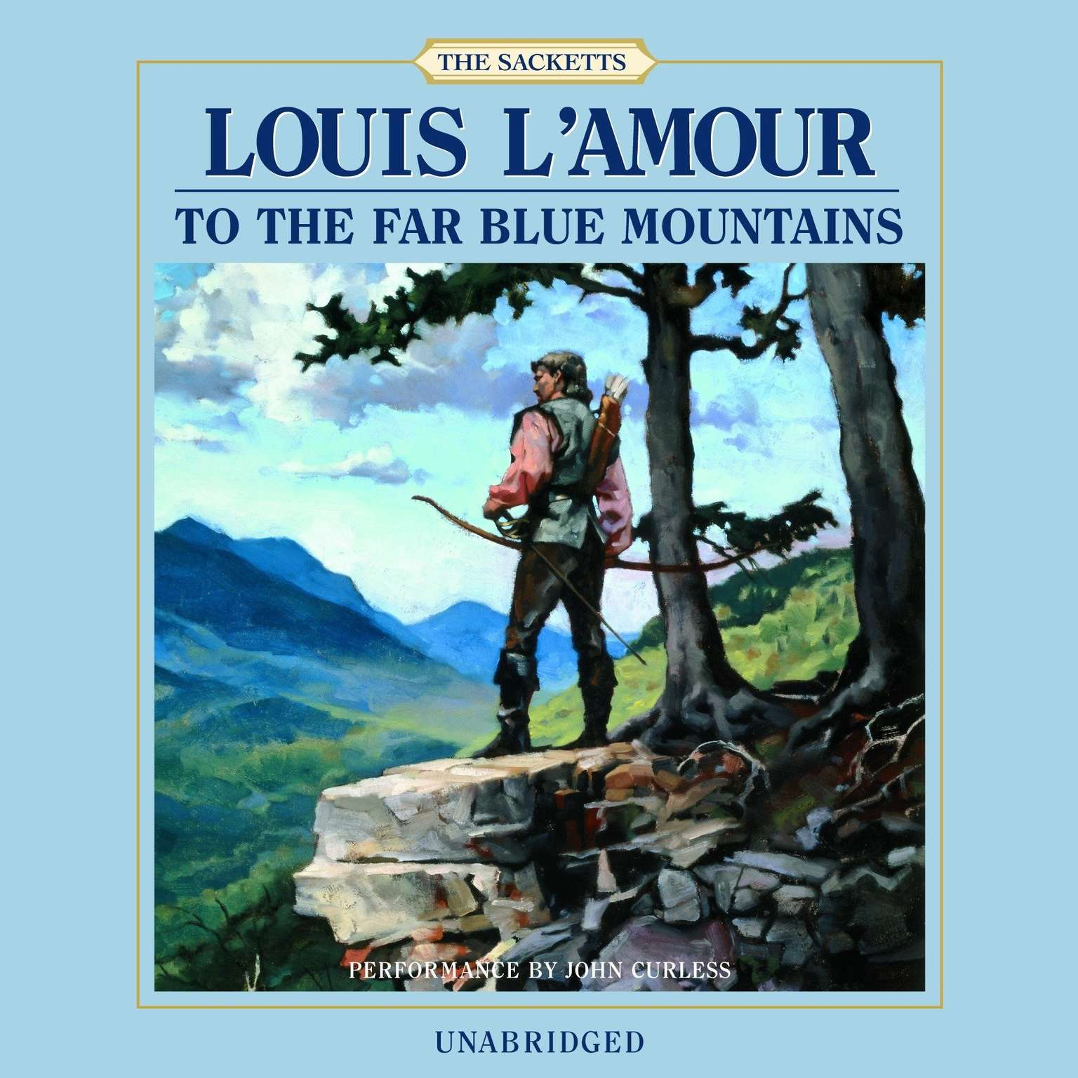 Printable To the Far Blue Mountains Audiobook Cover Art
