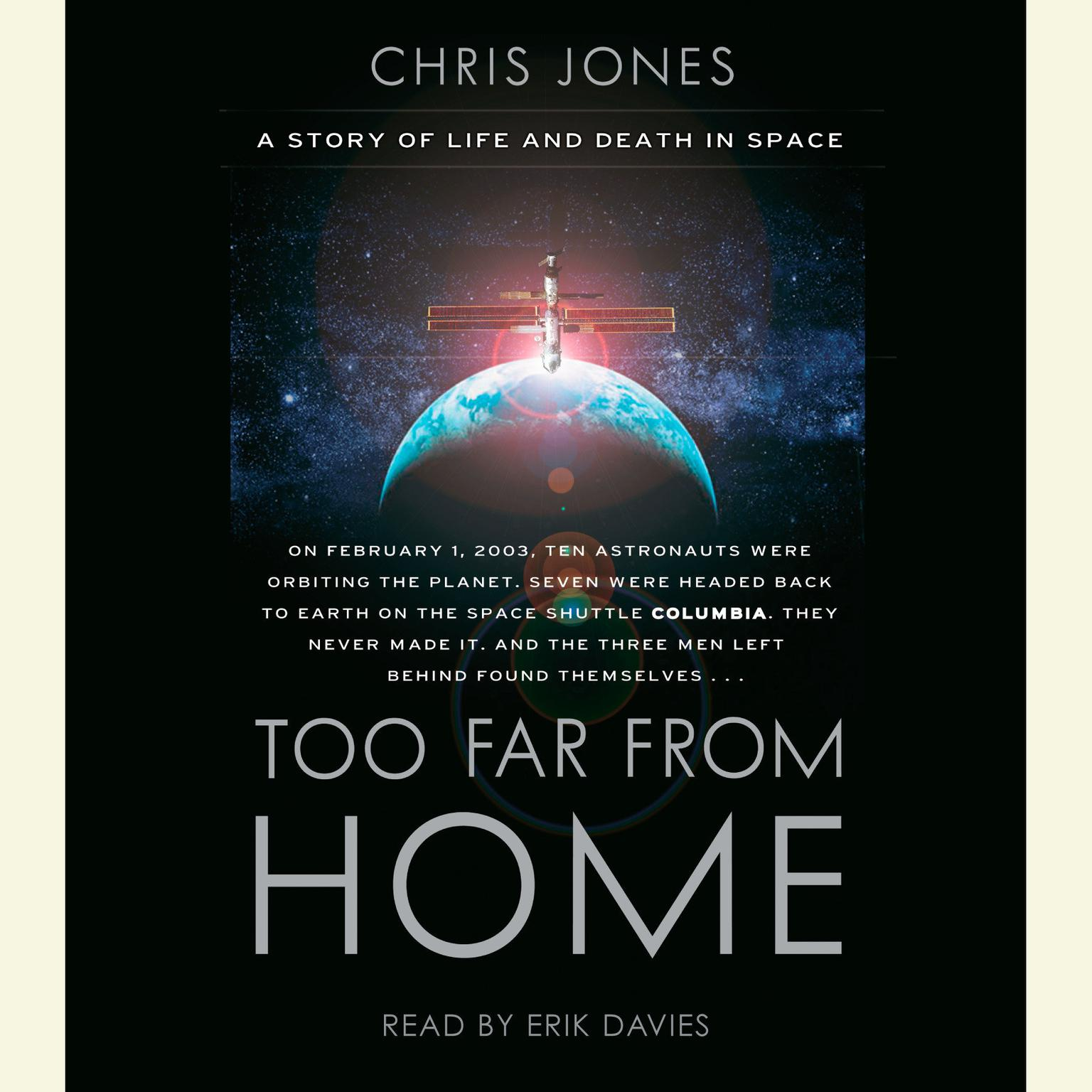 Printable Too Far From Home: A Story of Life and Death in Space Audiobook Cover Art