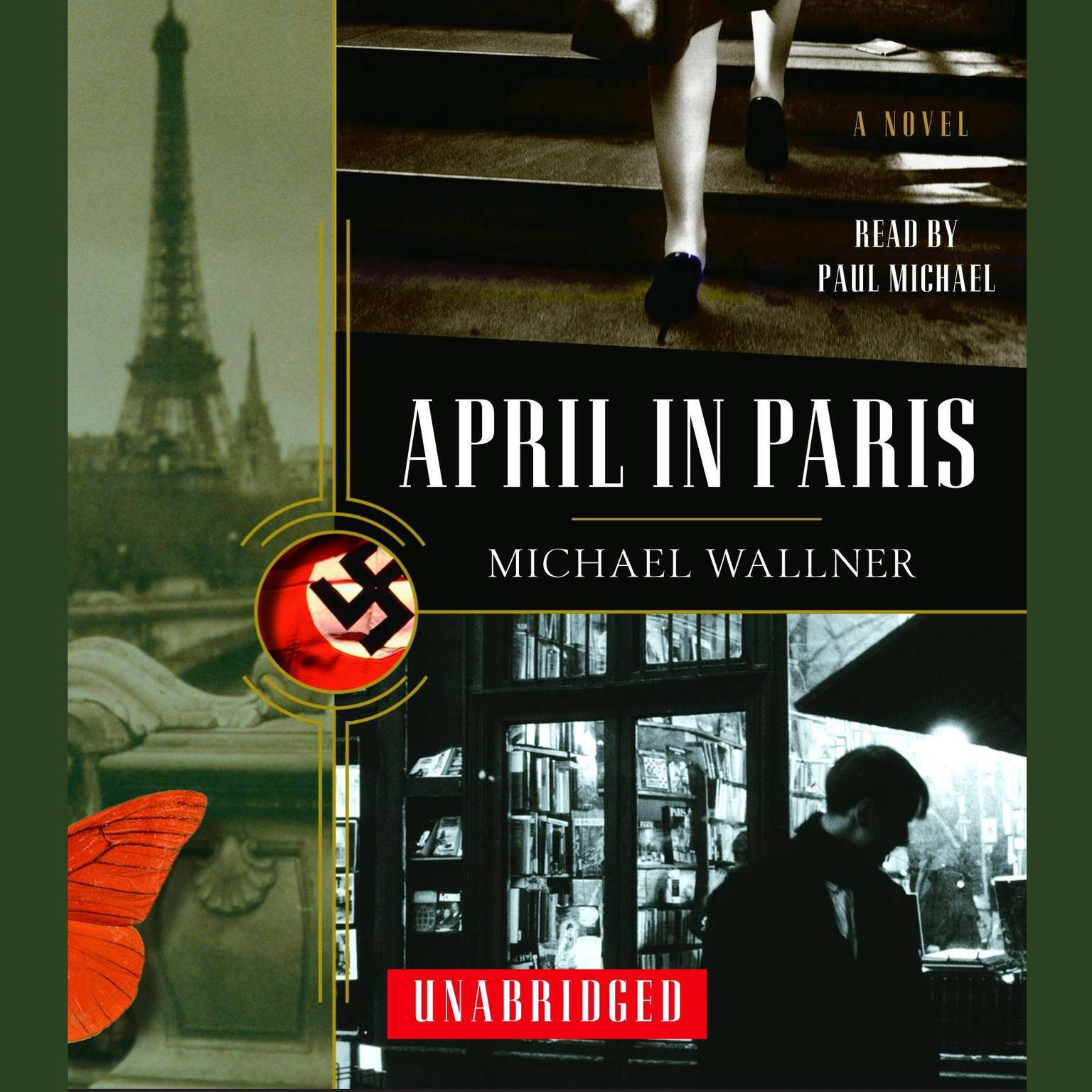 Printable April in Paris Audiobook Cover Art