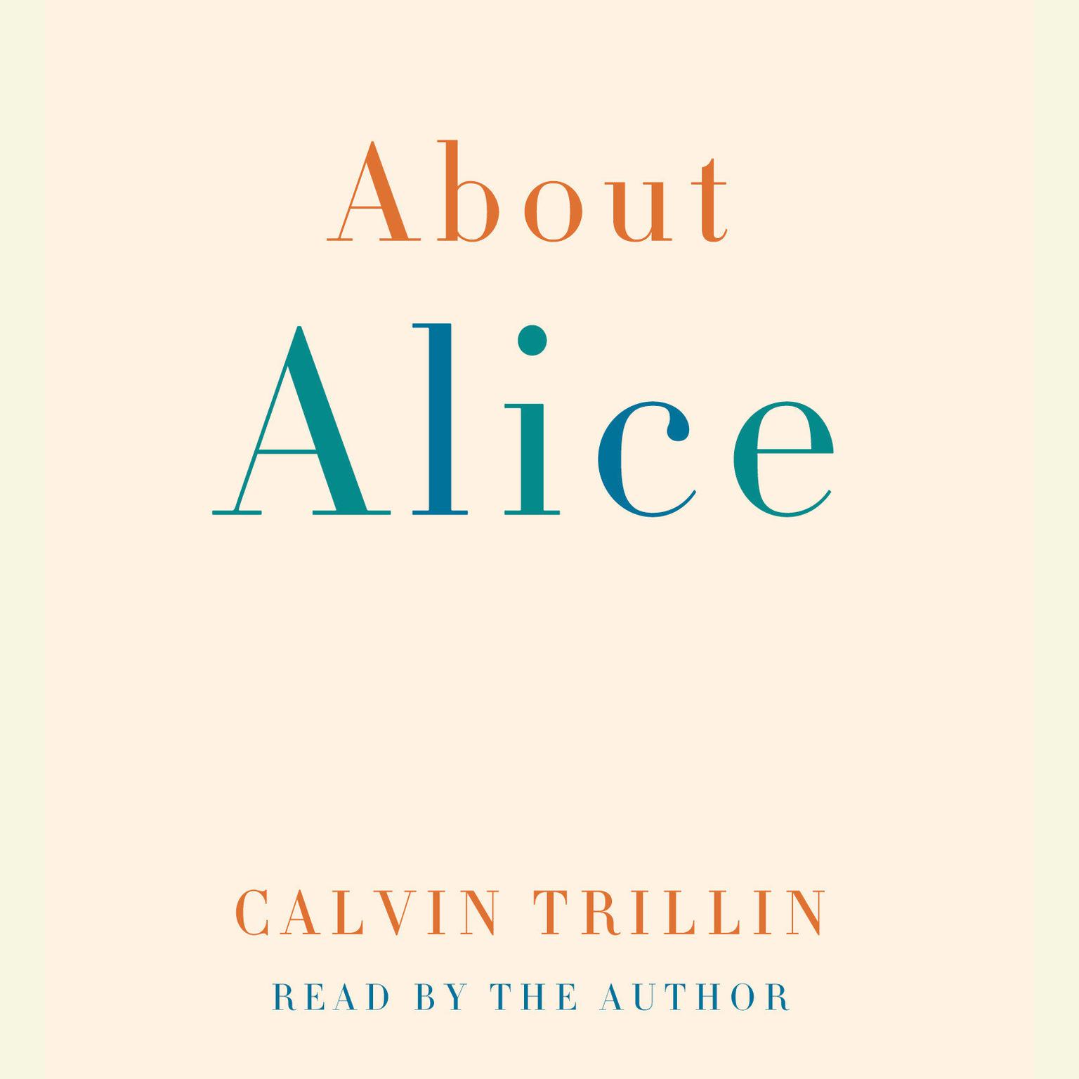 Printable About Alice Audiobook Cover Art