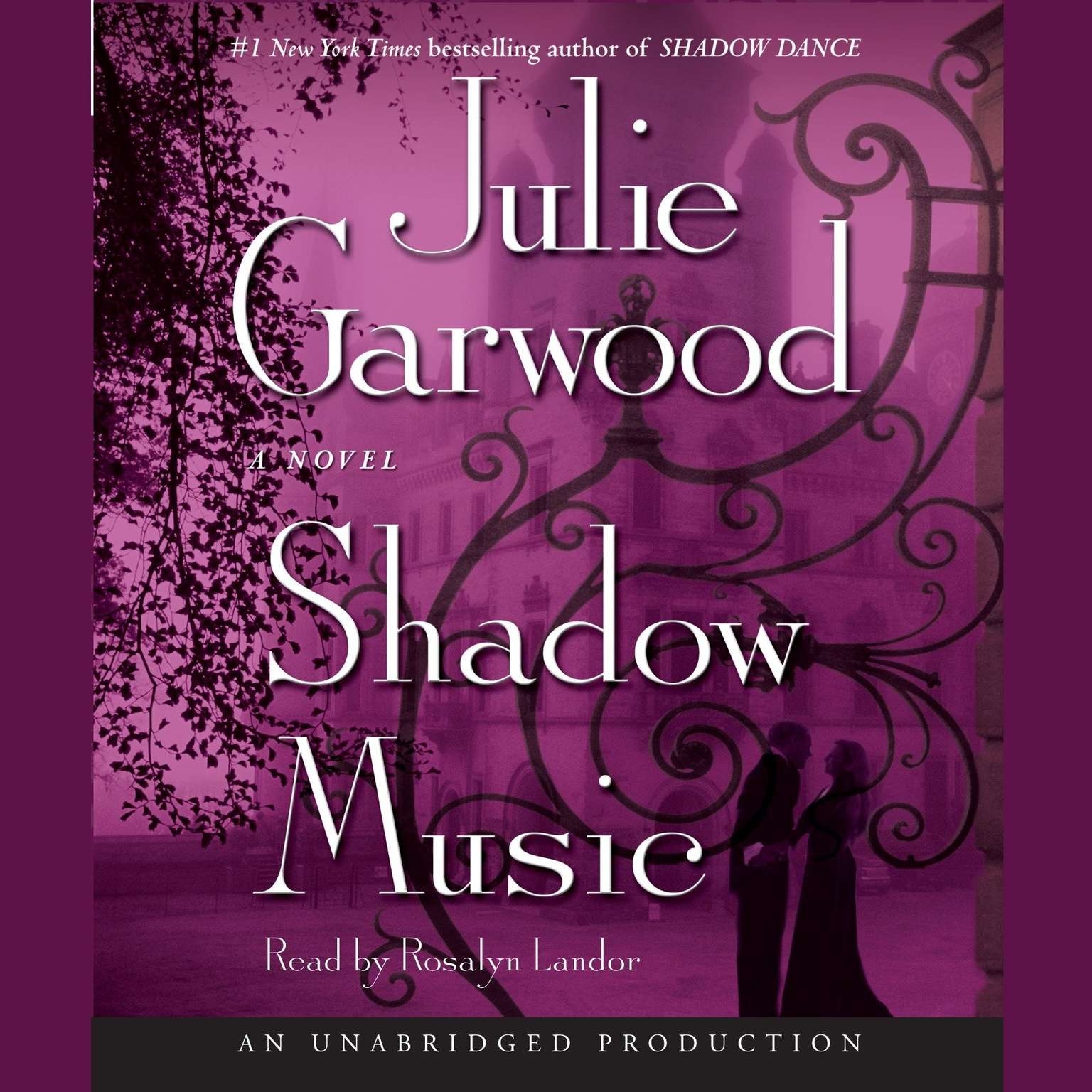 Printable Shadow Music: A Novel Audiobook Cover Art
