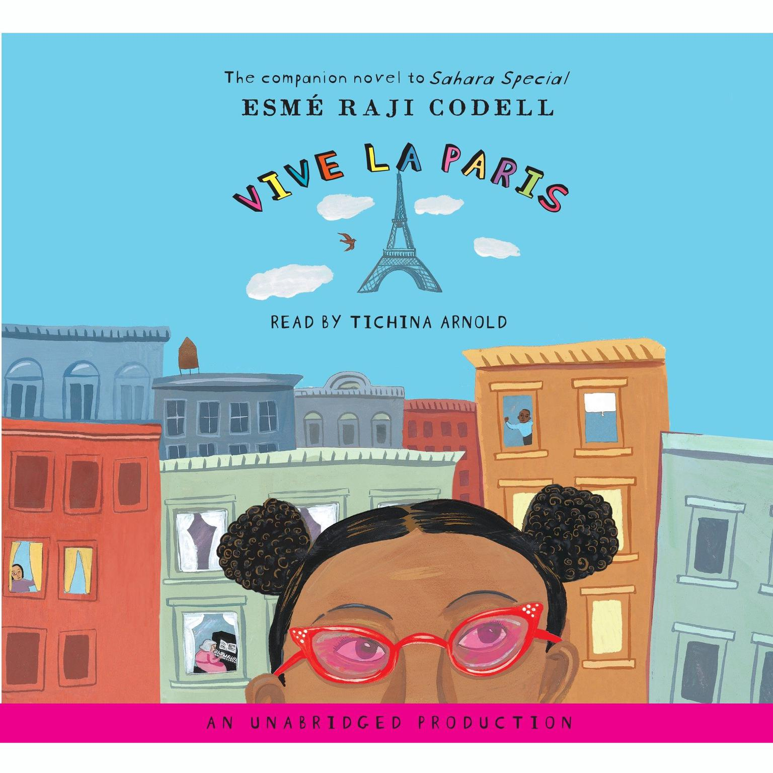 Printable Vive La Paris Audiobook Cover Art
