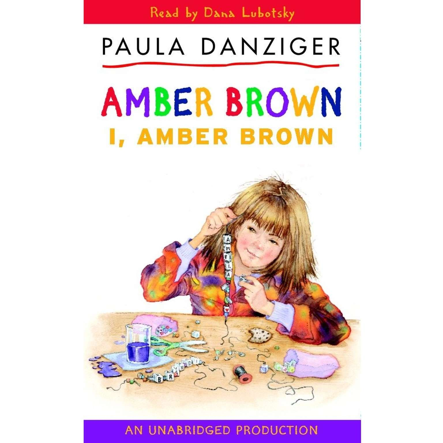 Printable I, Amber Brown Audiobook Cover Art