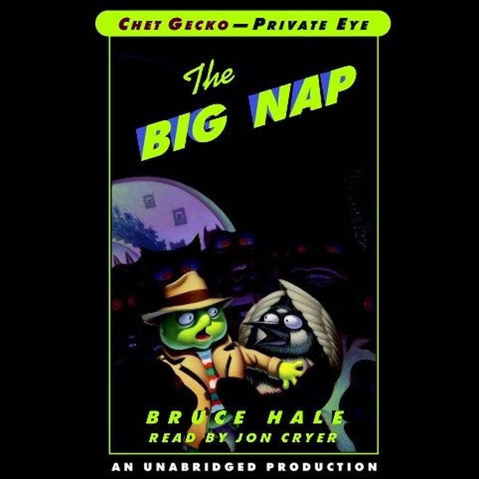 Printable The Big Nap Audiobook Cover Art