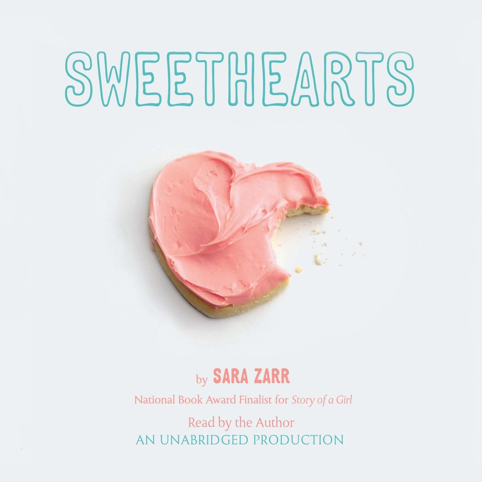Printable Sweethearts Audiobook Cover Art