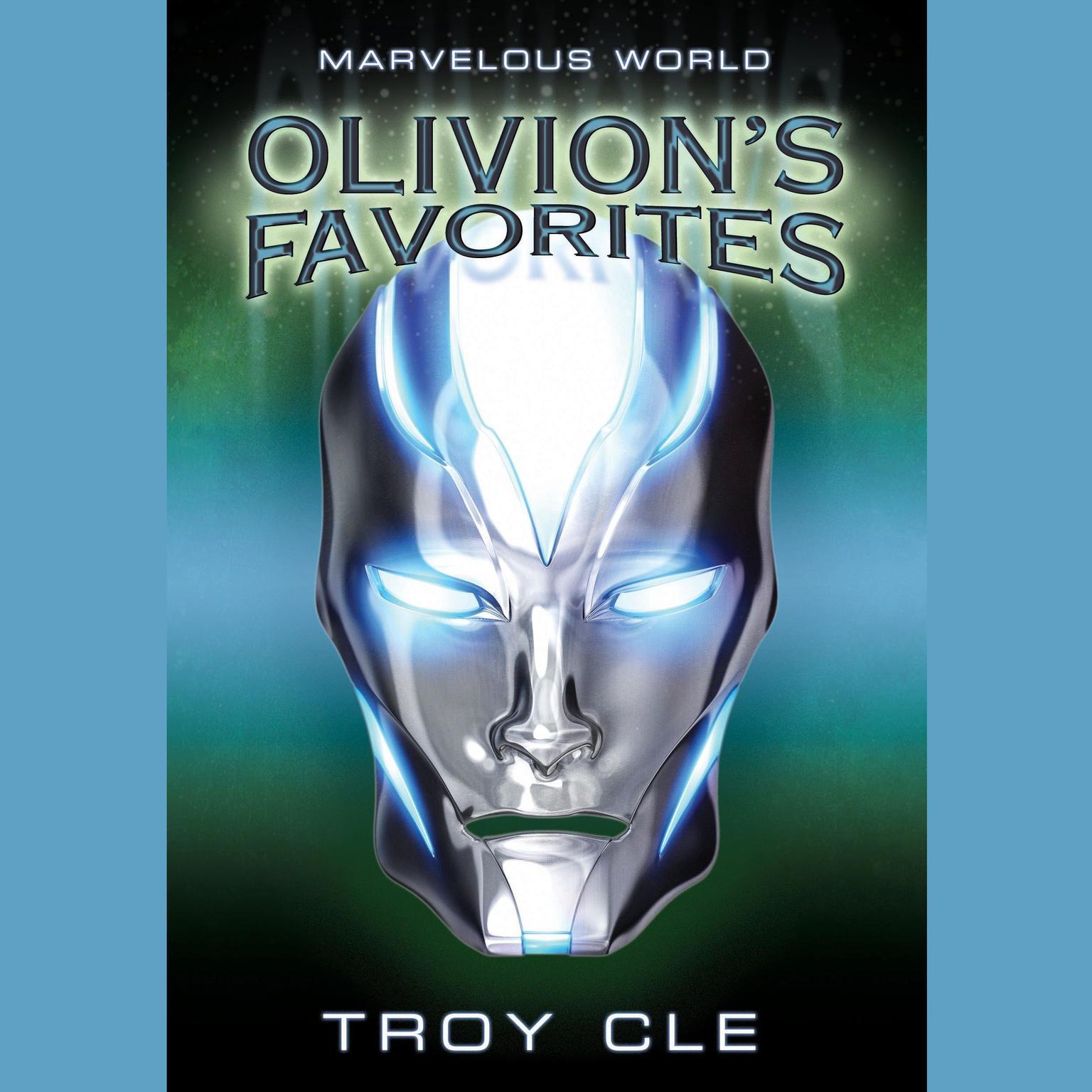 Printable Olivion's Favorites: Marvelous World, Book 2 Audiobook Cover Art