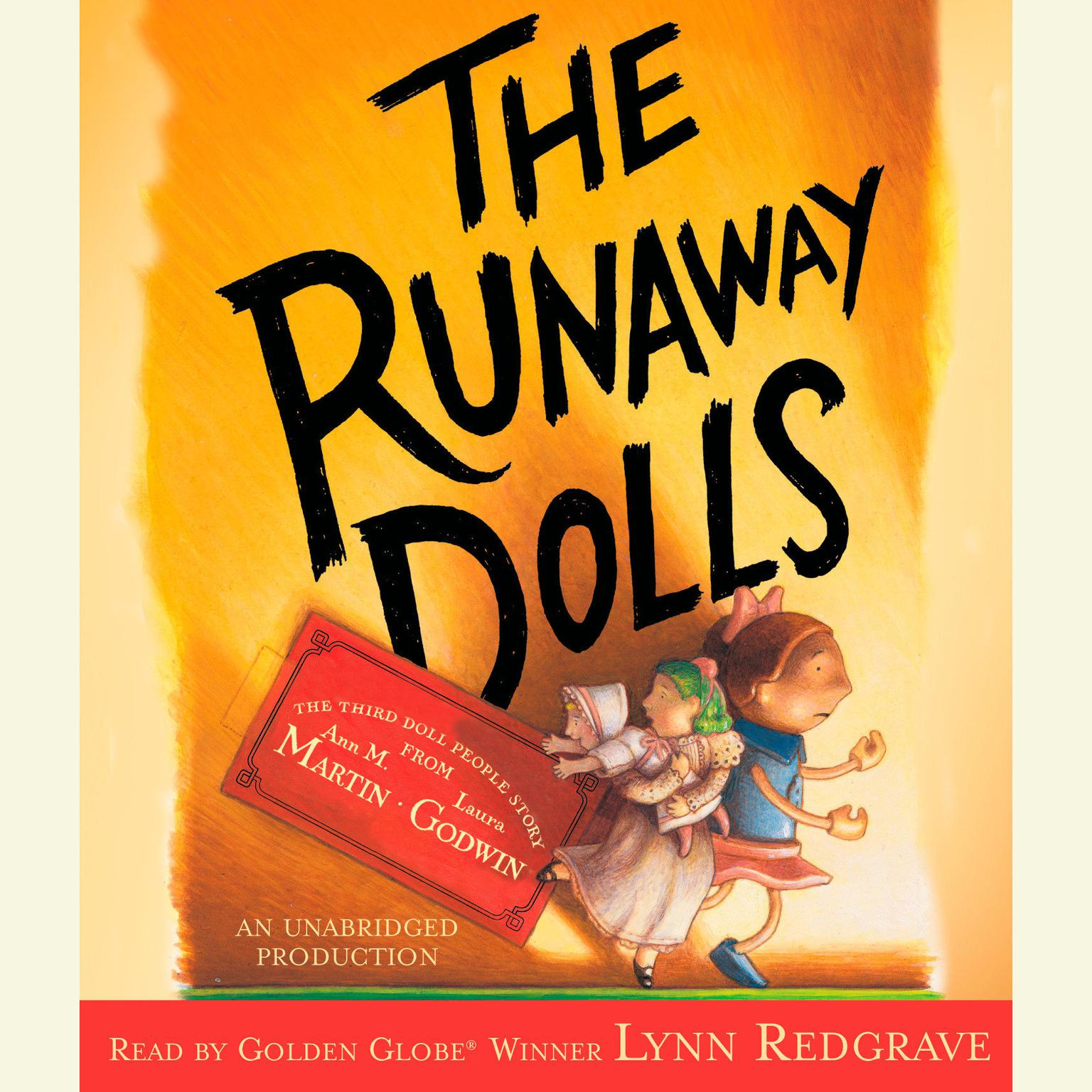 Printable The Runaway Dolls Audiobook Cover Art