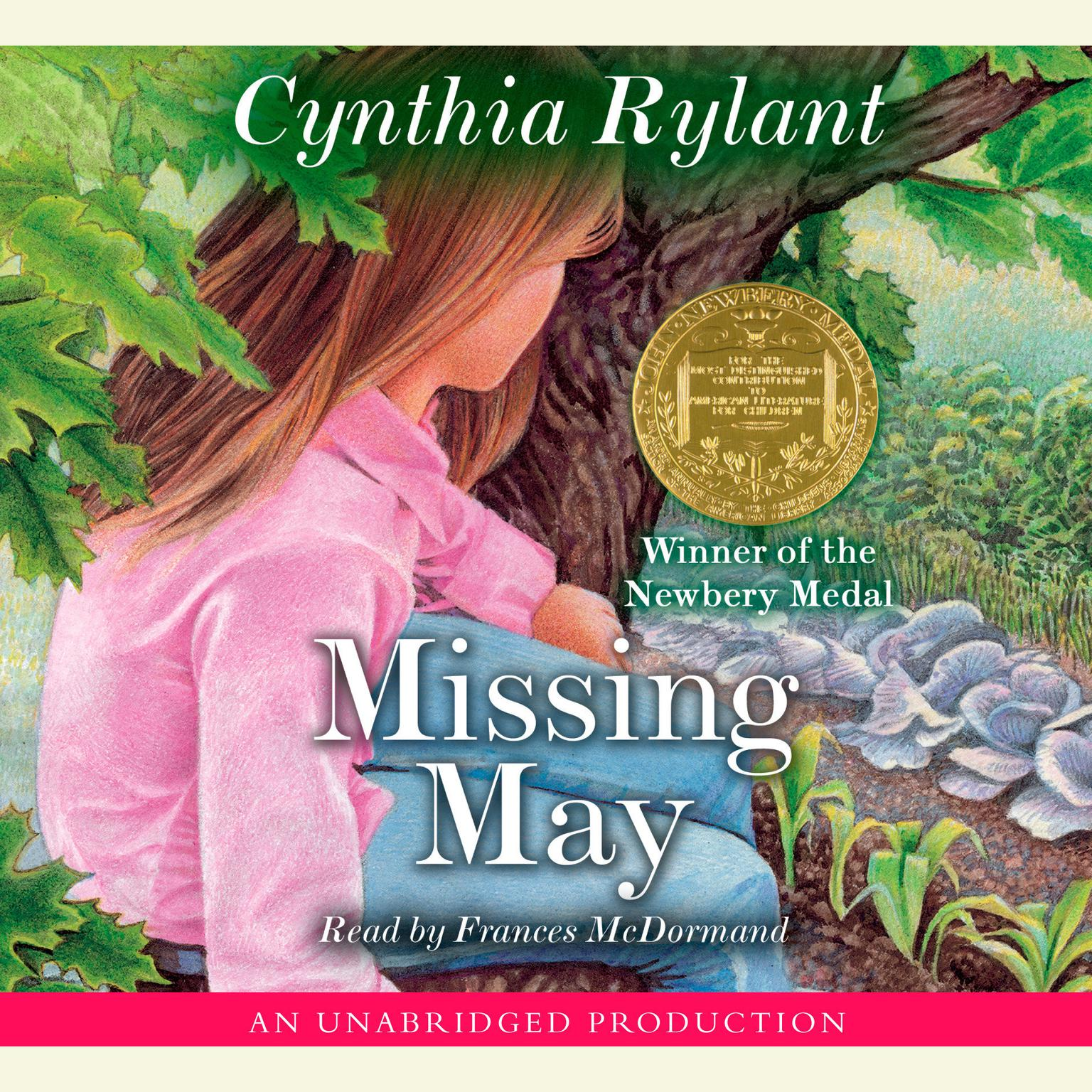 Printable Missing May Audiobook Cover Art