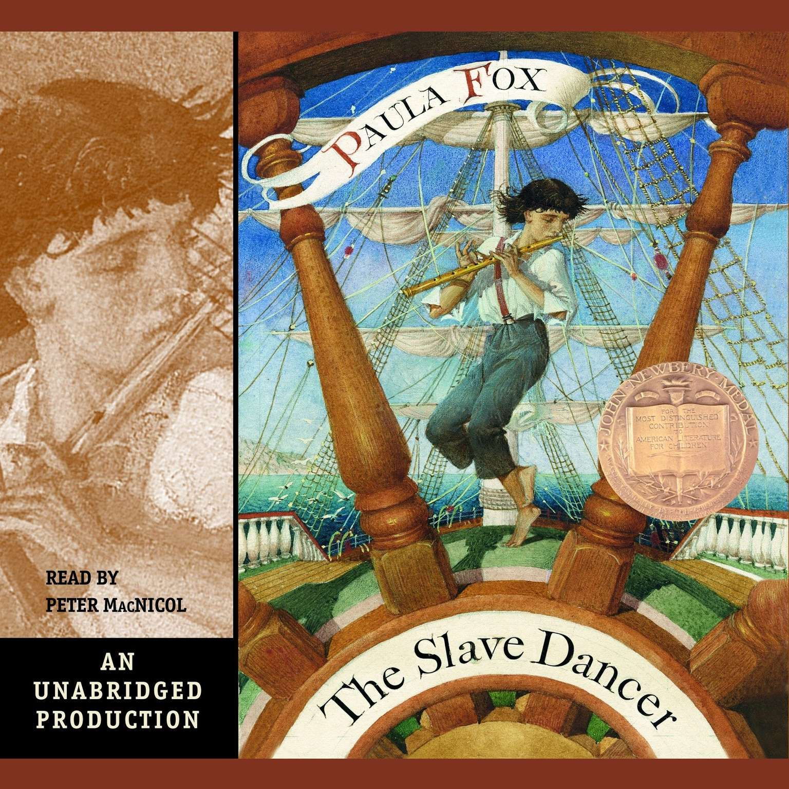 Printable The Slave Dancer Audiobook Cover Art