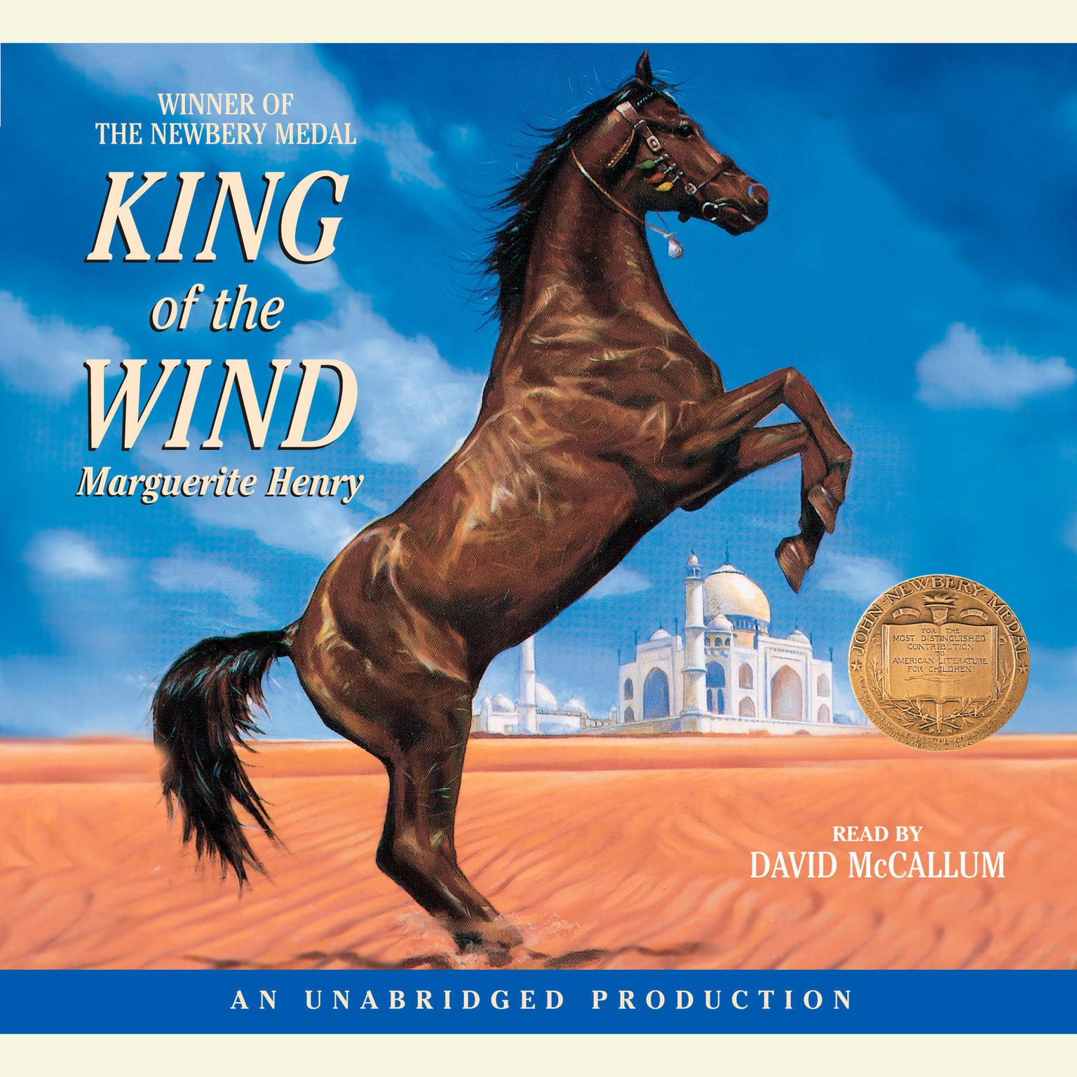 Printable King of the Wind Audiobook Cover Art