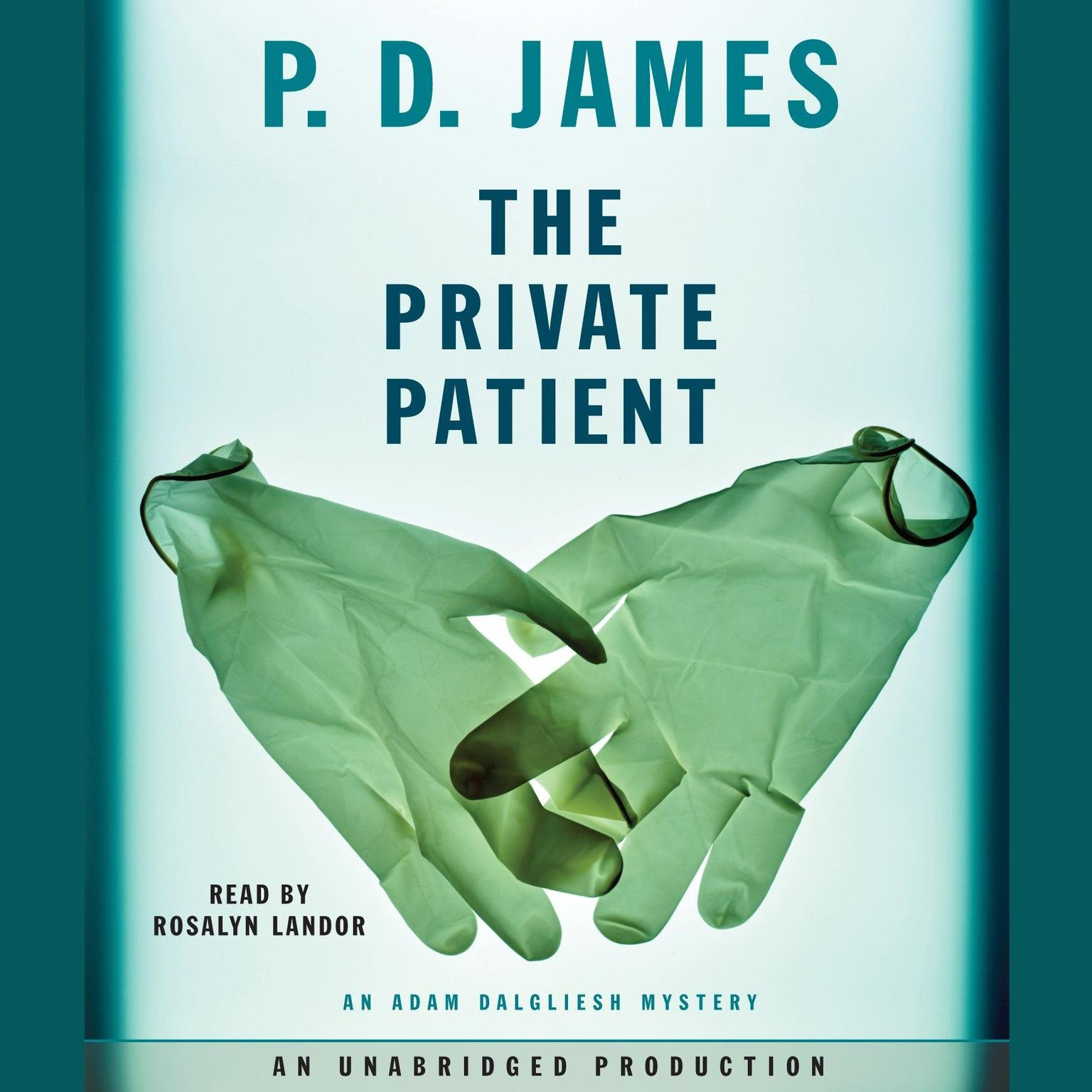 Printable The Private Patient Audiobook Cover Art