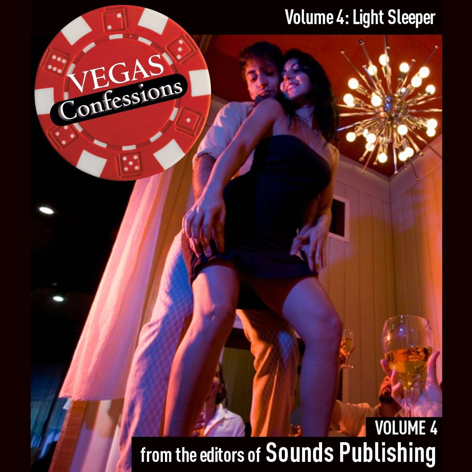 Printable Vegas Confessions 4: Light Sleeper Audiobook Cover Art