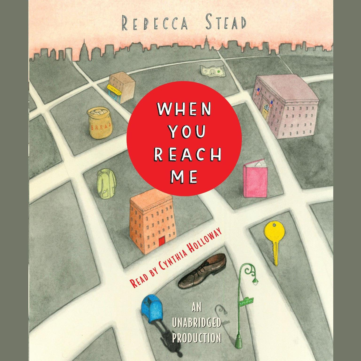 Printable When You Reach Me Audiobook Cover Art