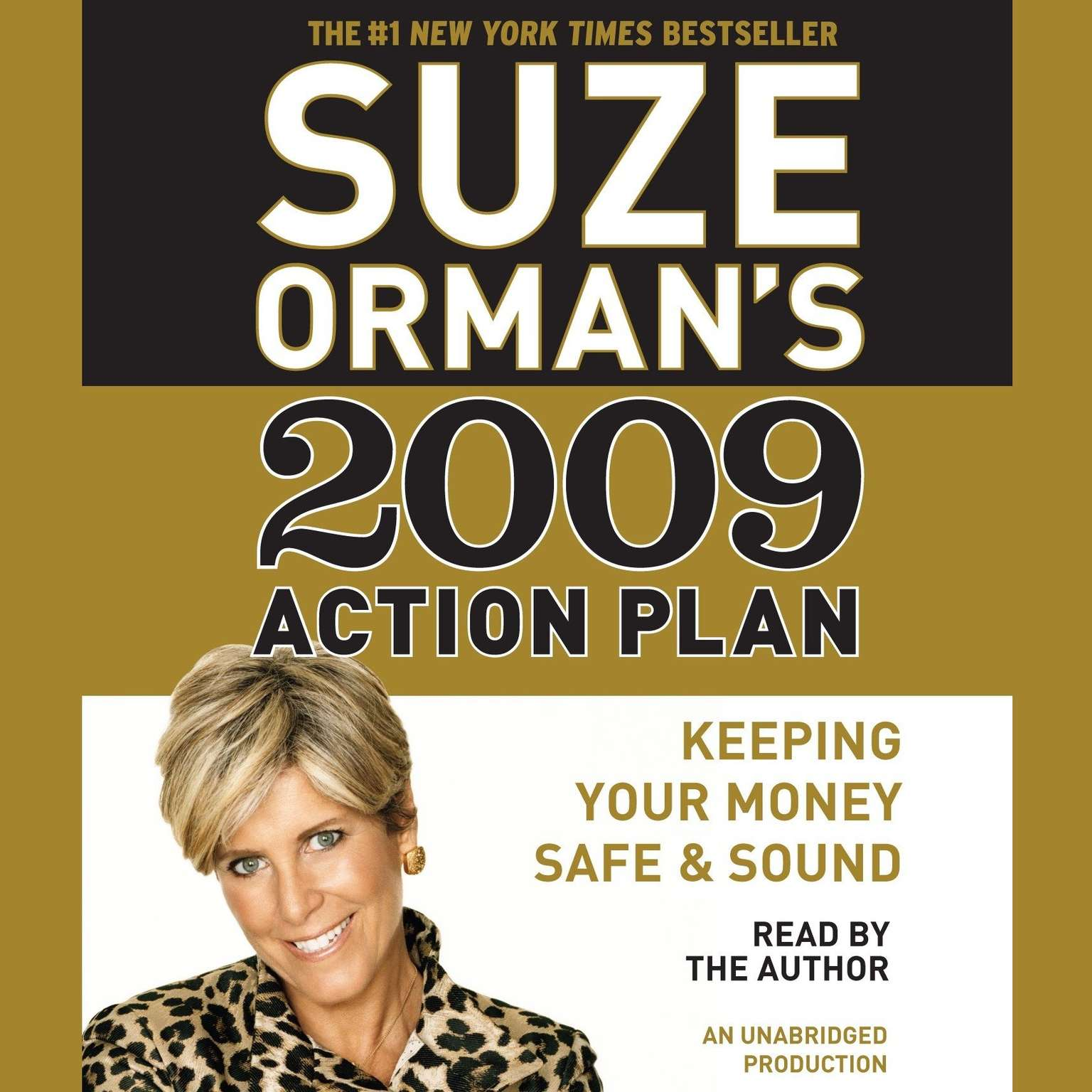 Printable Suze Orman's 2009 Action Plan Audiobook Cover Art