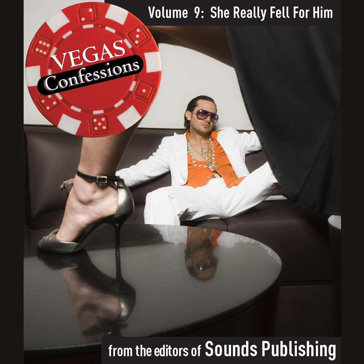 Printable Vegas Confessions 9: She Really Fell for Him Audiobook Cover Art