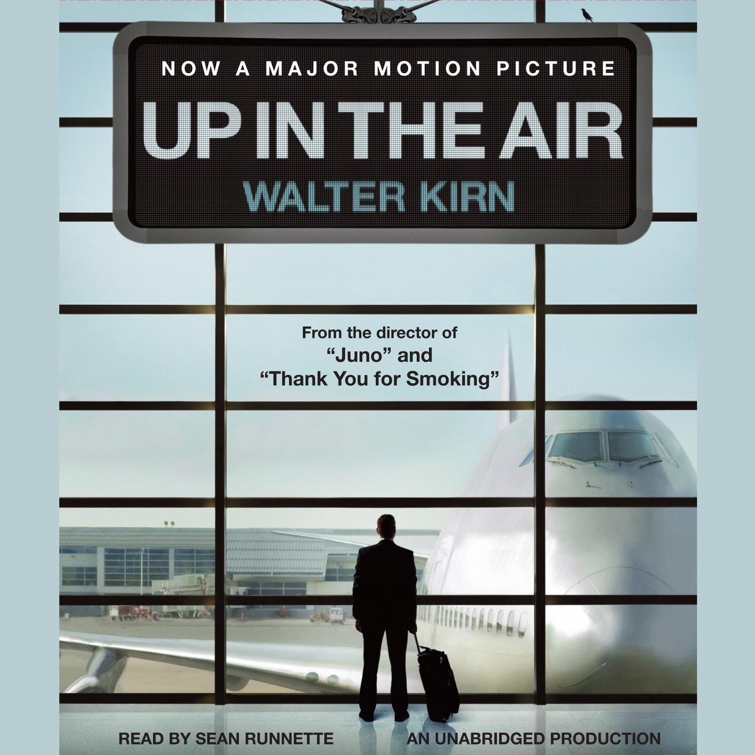 Printable Up in the Air Audiobook Cover Art