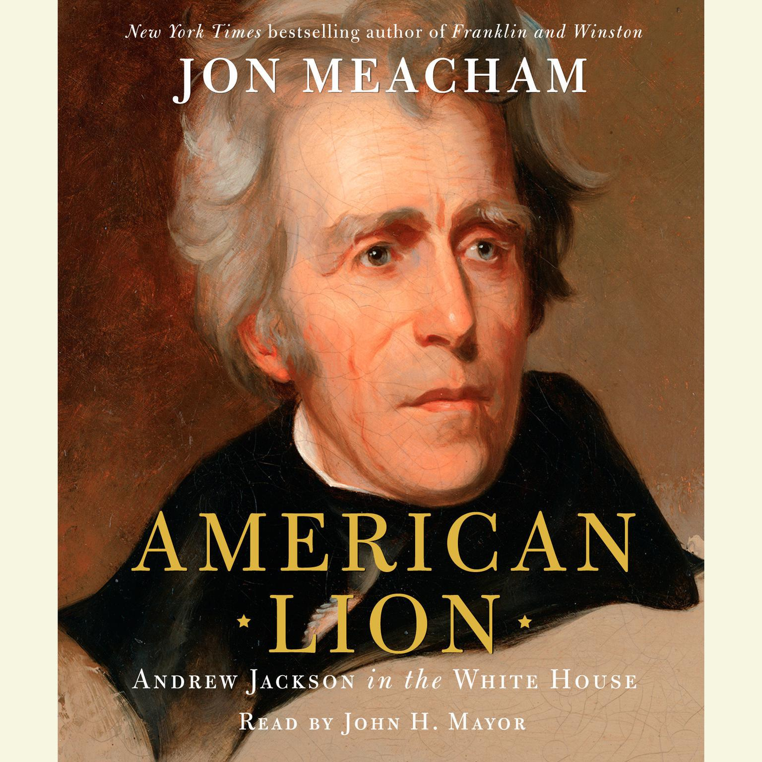 Printable American Lion: Andrew Jackson in the White House Audiobook Cover Art