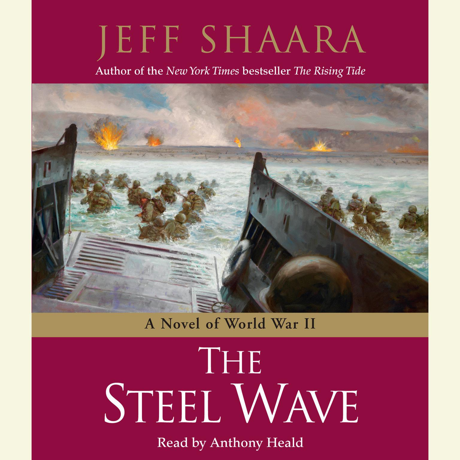 Printable The Steel Wave: A Novel of World War II Audiobook Cover Art