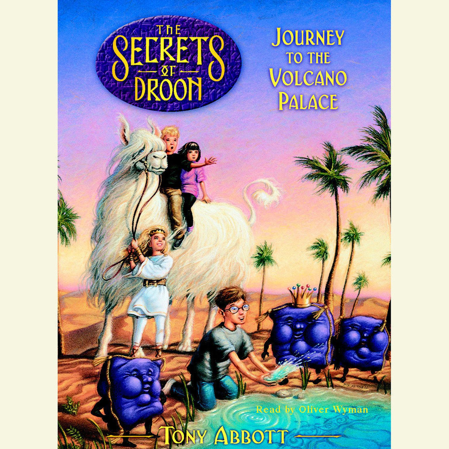 Printable Journey to the Volcano Palace: The Secrets of Droon Book 2 Audiobook Cover Art