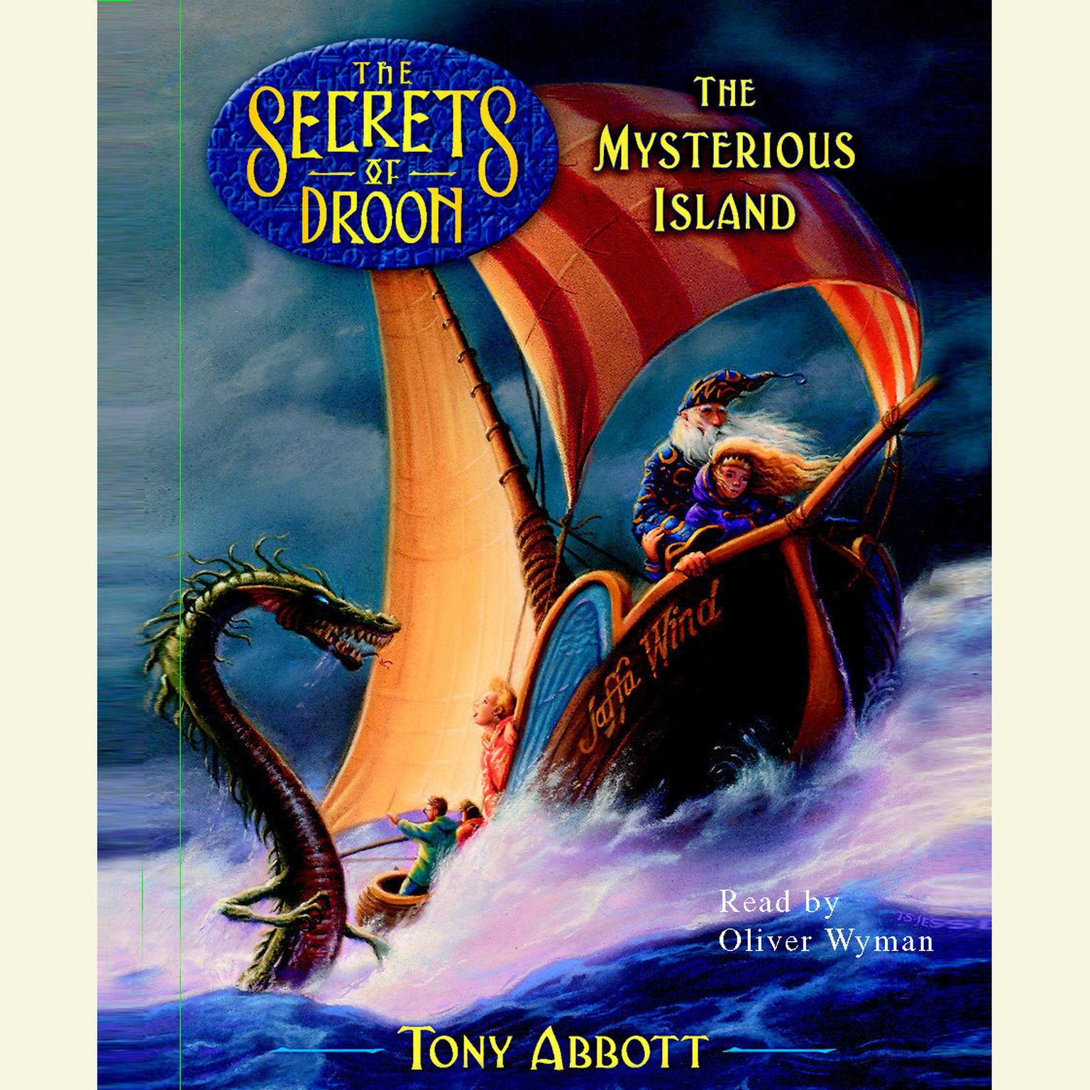 Printable The Mysterious Island, The Secrets of Droon Book 3 Audiobook Cover Art