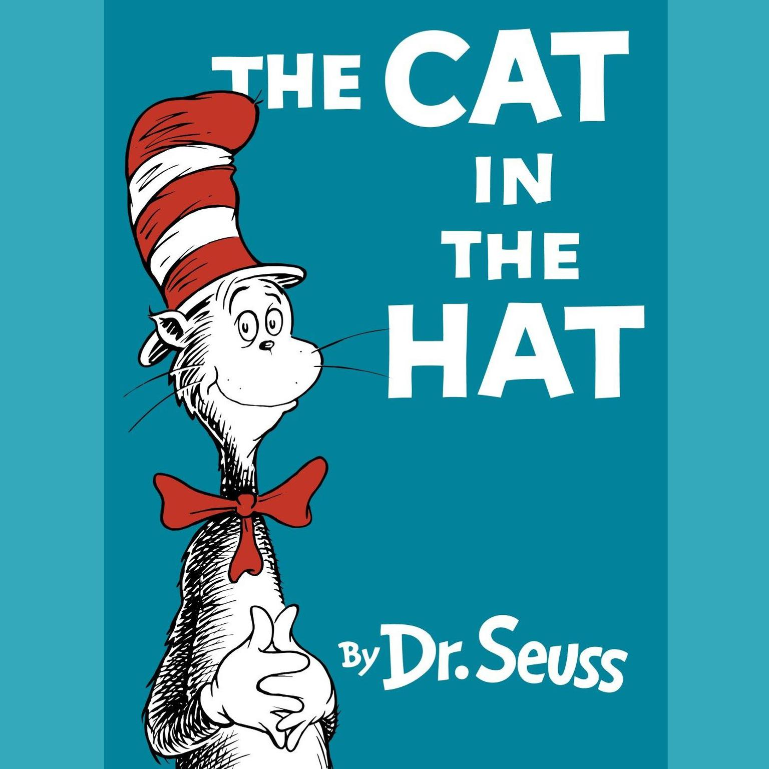 Printable The Cat in the Hat Audiobook Cover Art