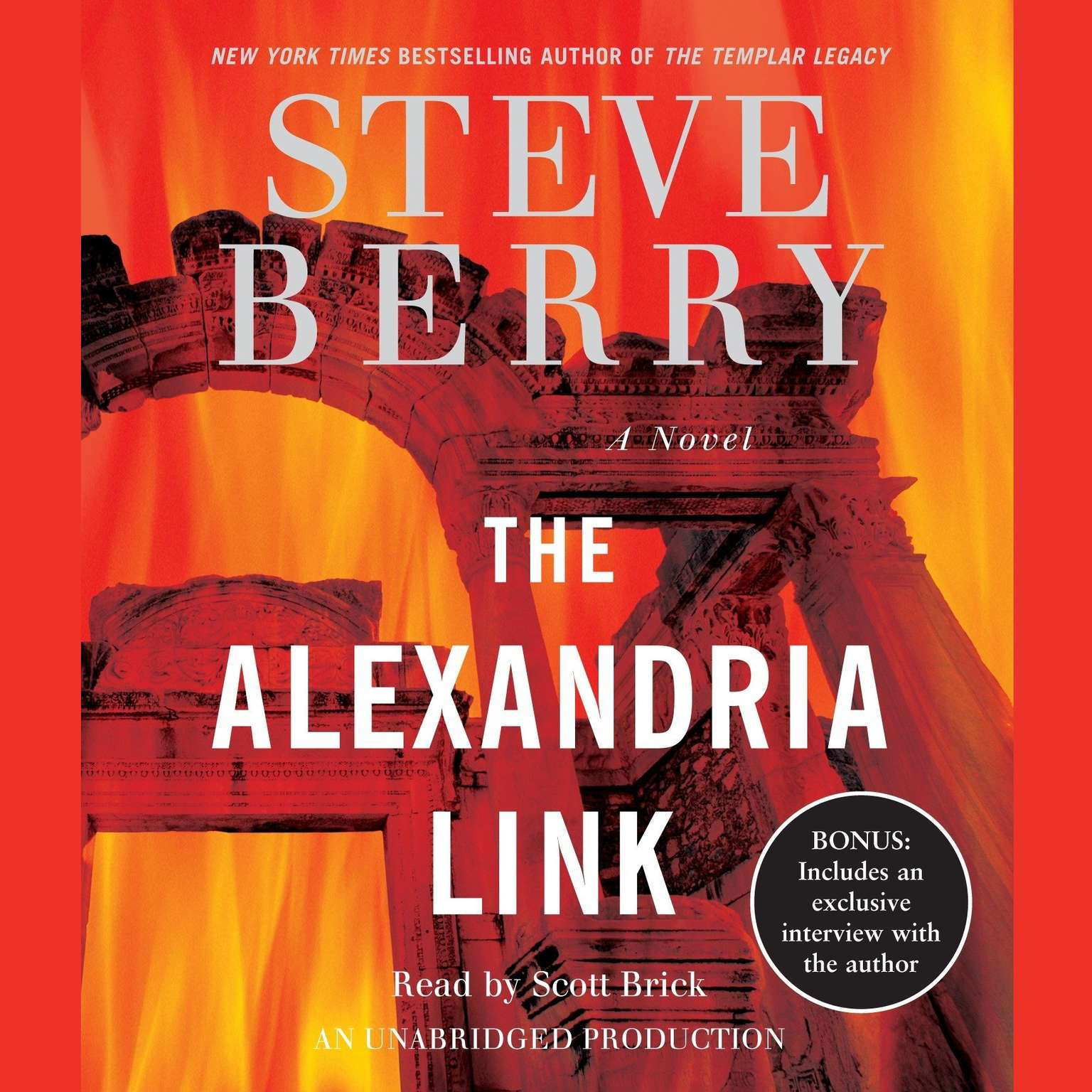 Printable The Alexandria Link: A Novel Audiobook Cover Art