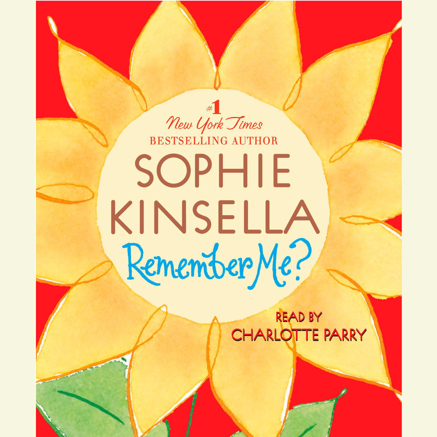 Printable Remember Me? Audiobook Cover Art