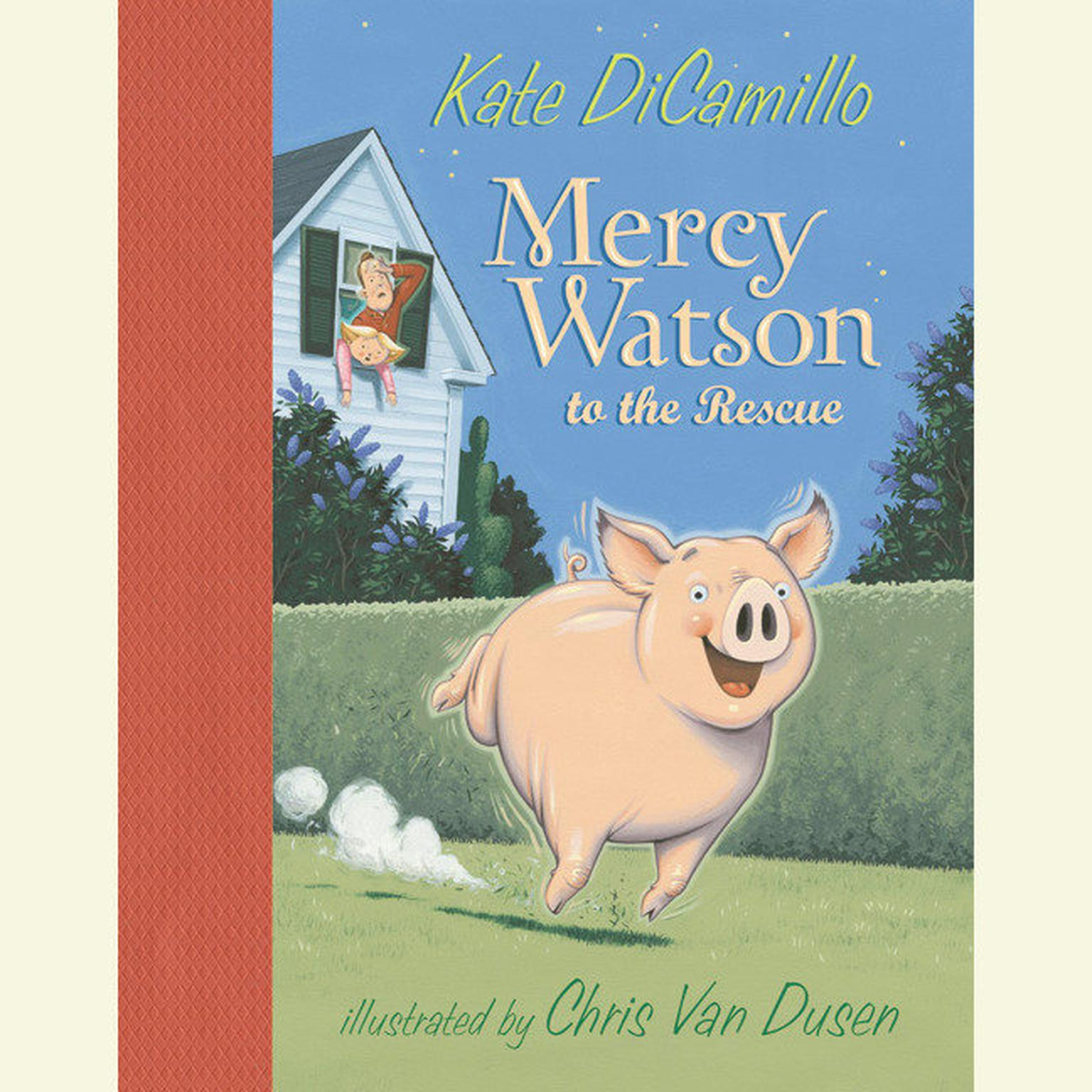 Printable Mercy Watson to the Rescue Audiobook Cover Art