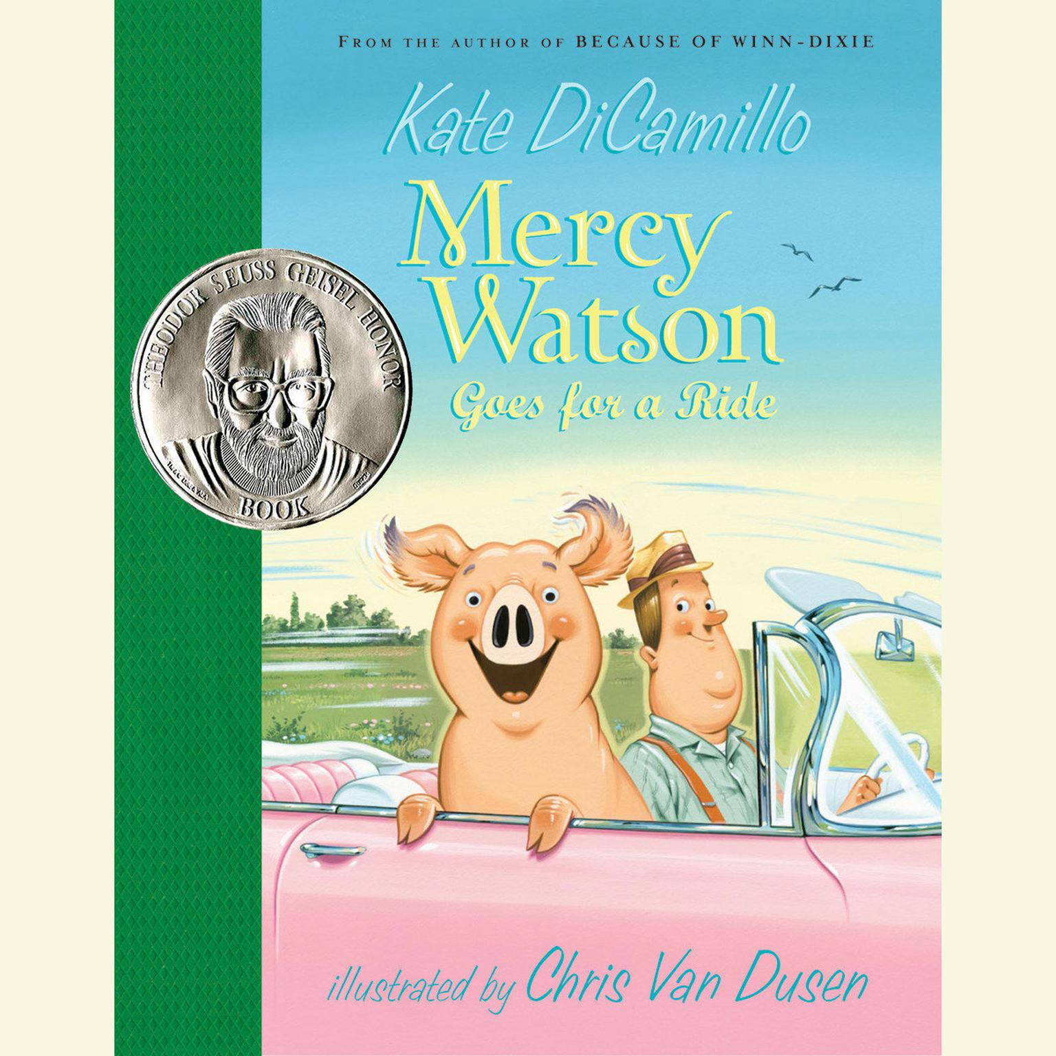 Printable Mercy Watson Goes for a Ride Audiobook Cover Art