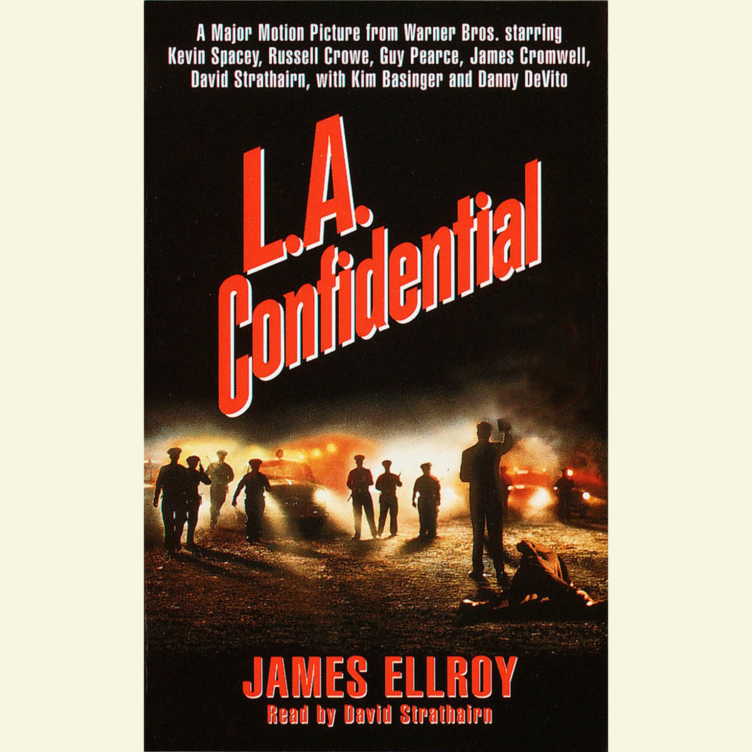 Printable LA Confidential Audiobook Cover Art