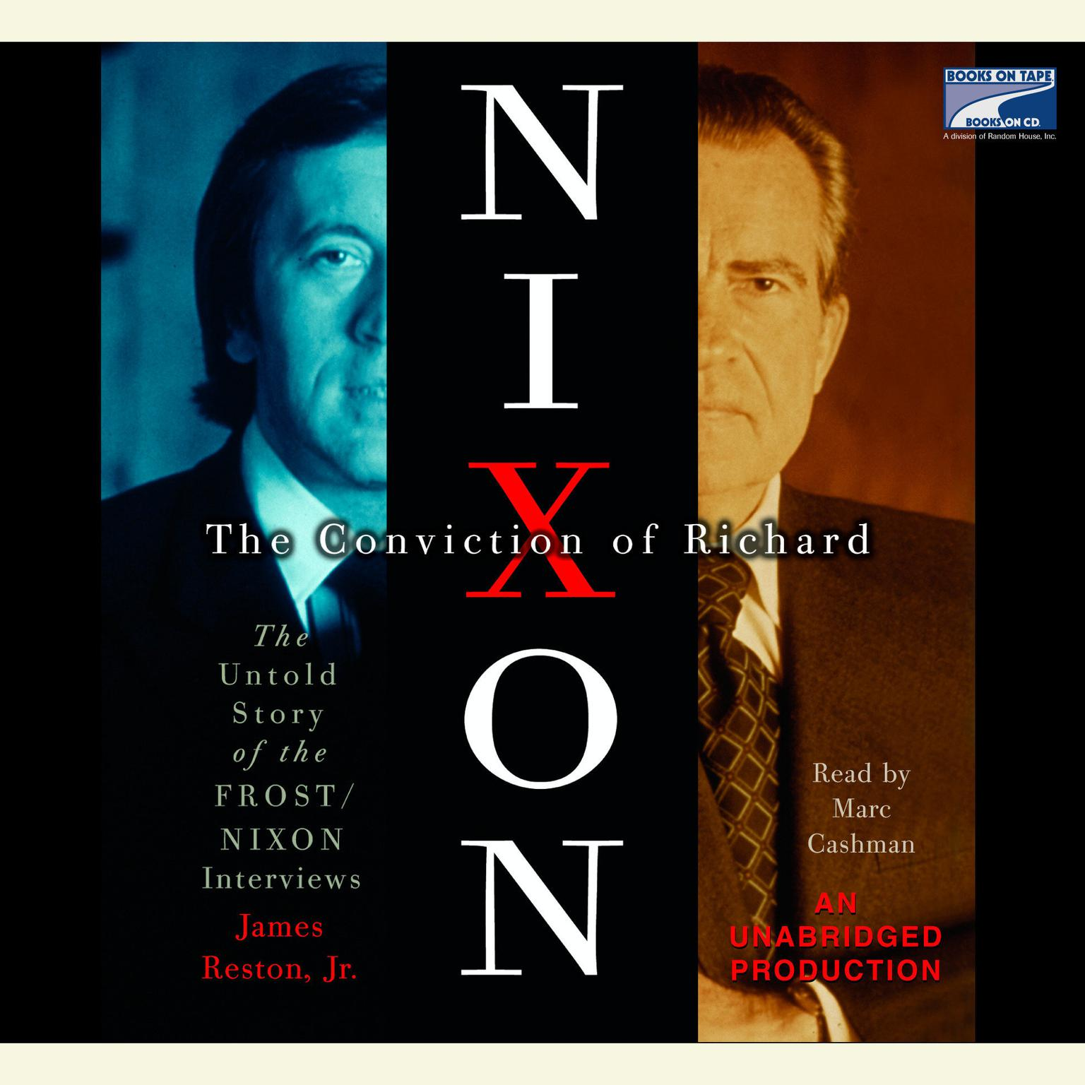 Printable The Conviction of Richard Nixon: The Untold Story of the Frost/Nixon Interviews Audiobook Cover Art
