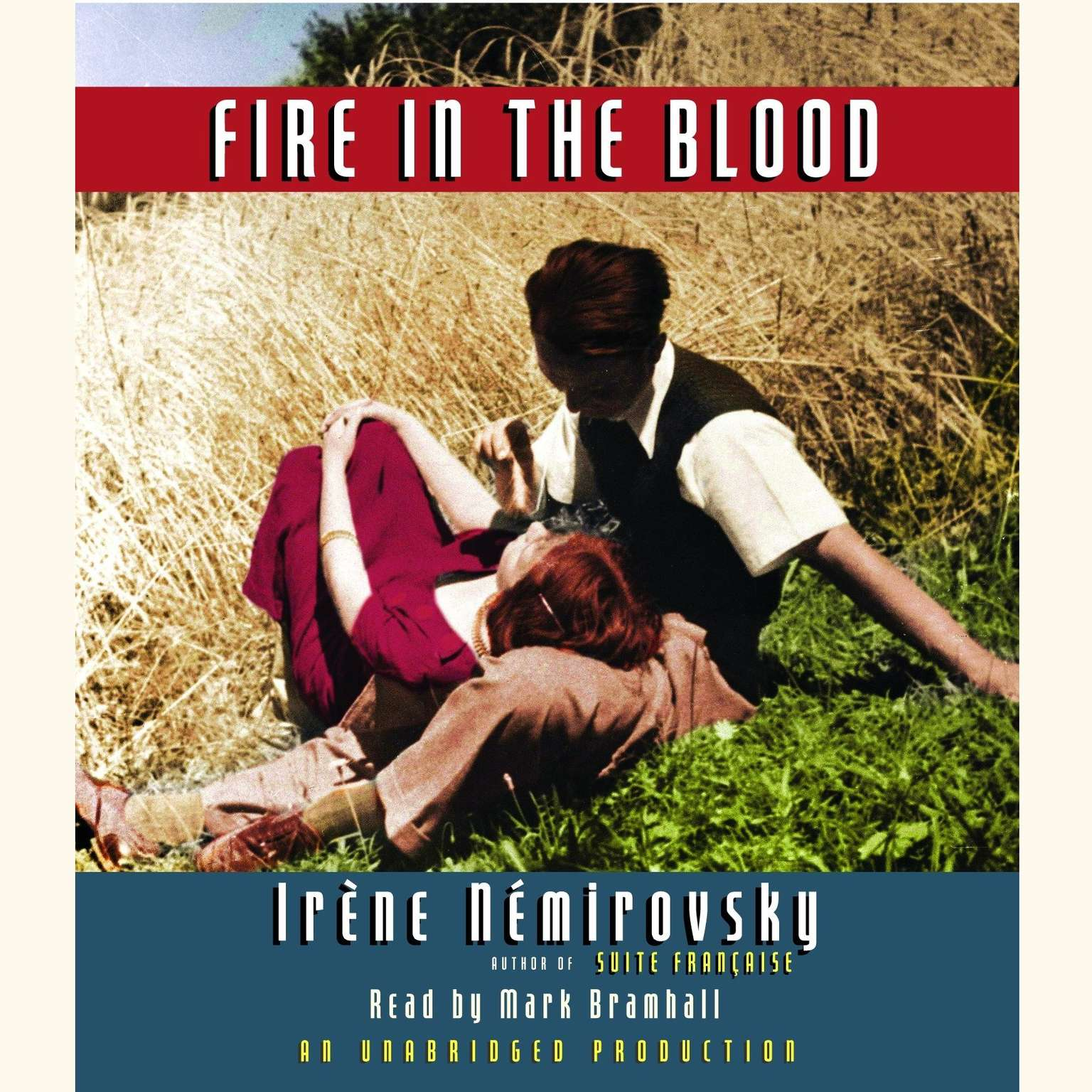 Printable Fire in the Blood Audiobook Cover Art