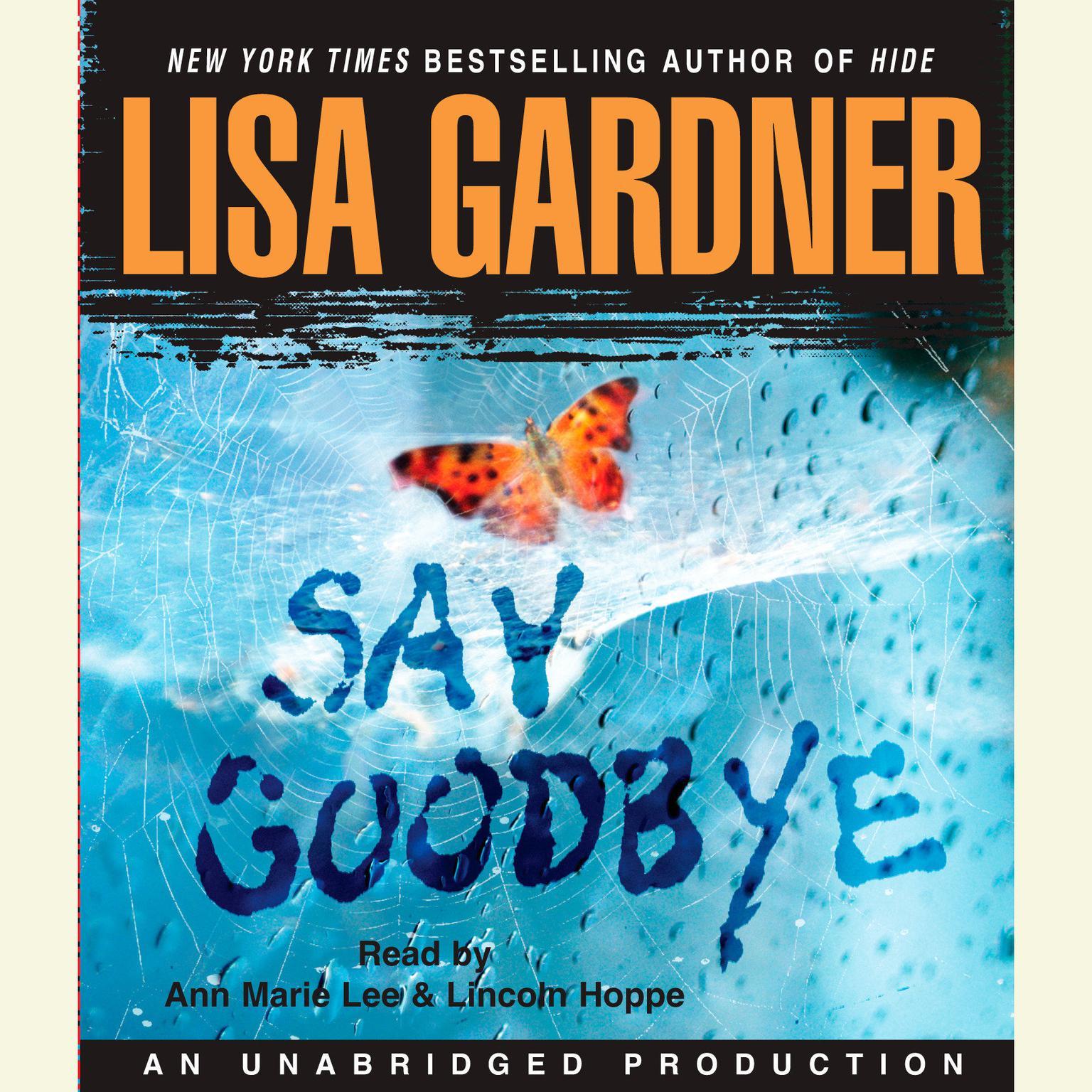 Printable Say Goodbye Audiobook Cover Art