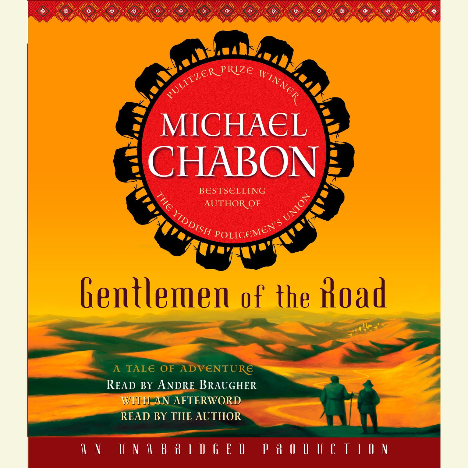 Printable Gentlemen of the Road: A Tale of Adventure Audiobook Cover Art