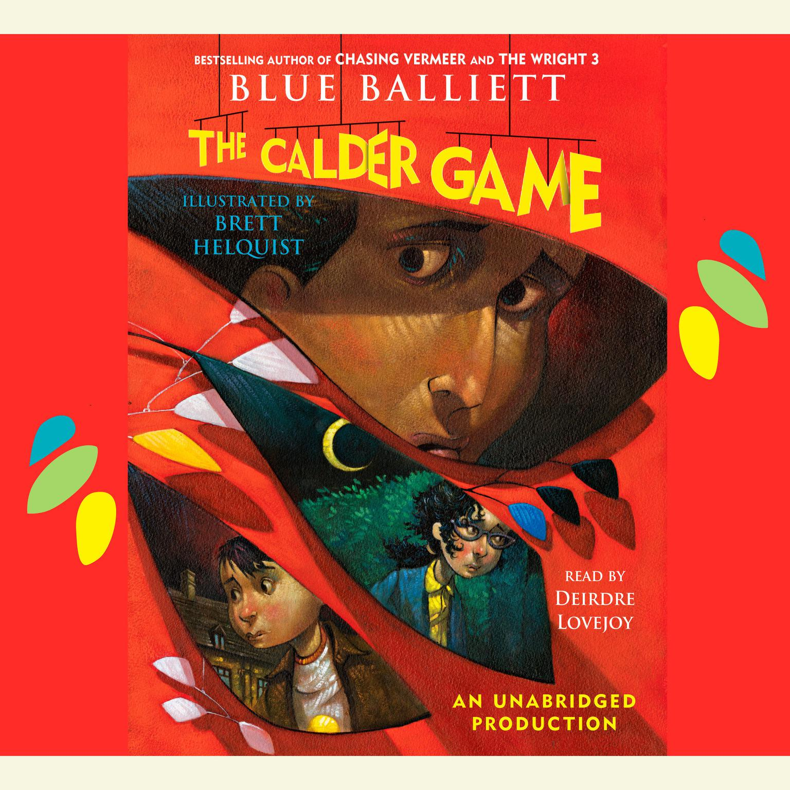 Printable The Calder Game Audiobook Cover Art