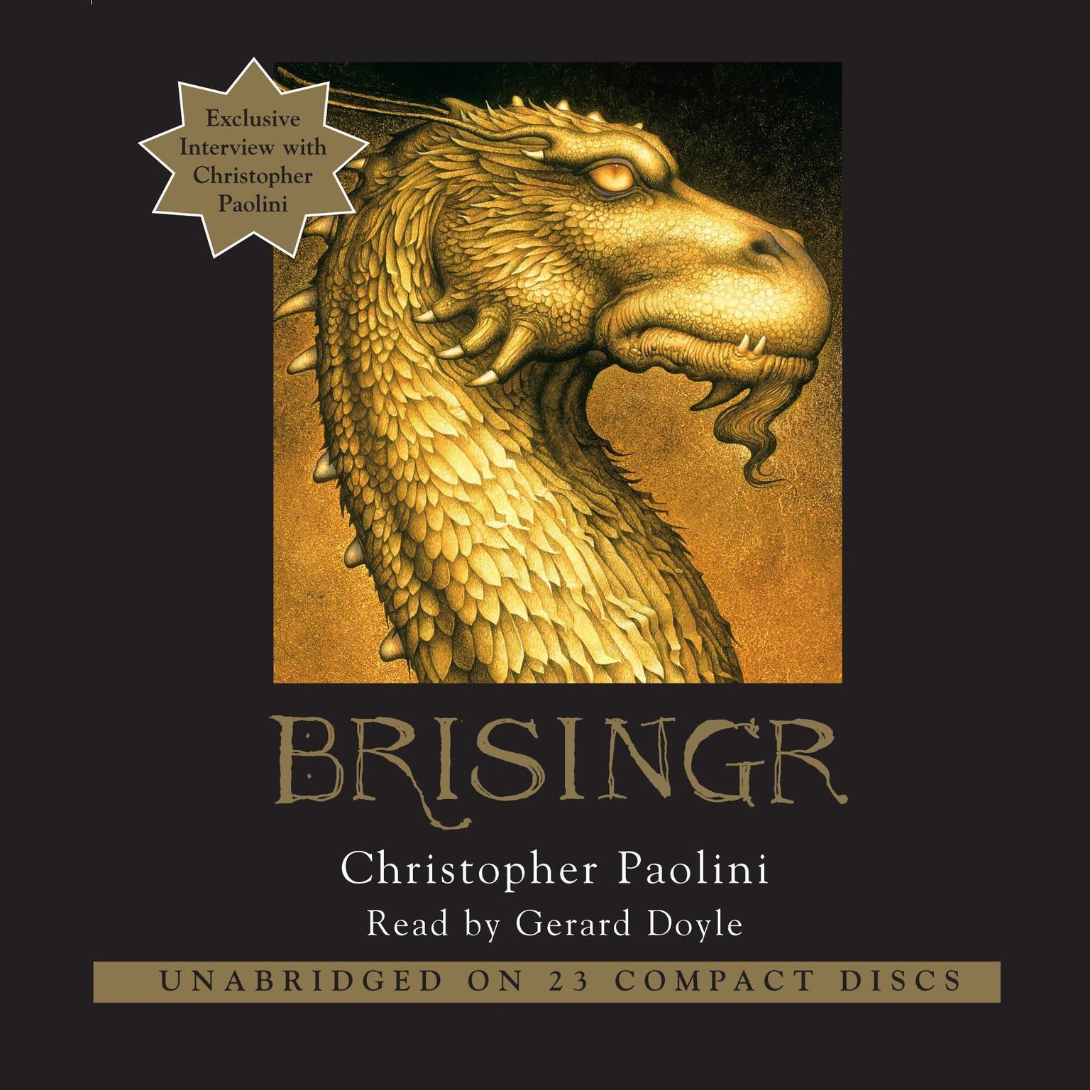 Printable Brisingr: Inheritance, Book III Audiobook Cover Art