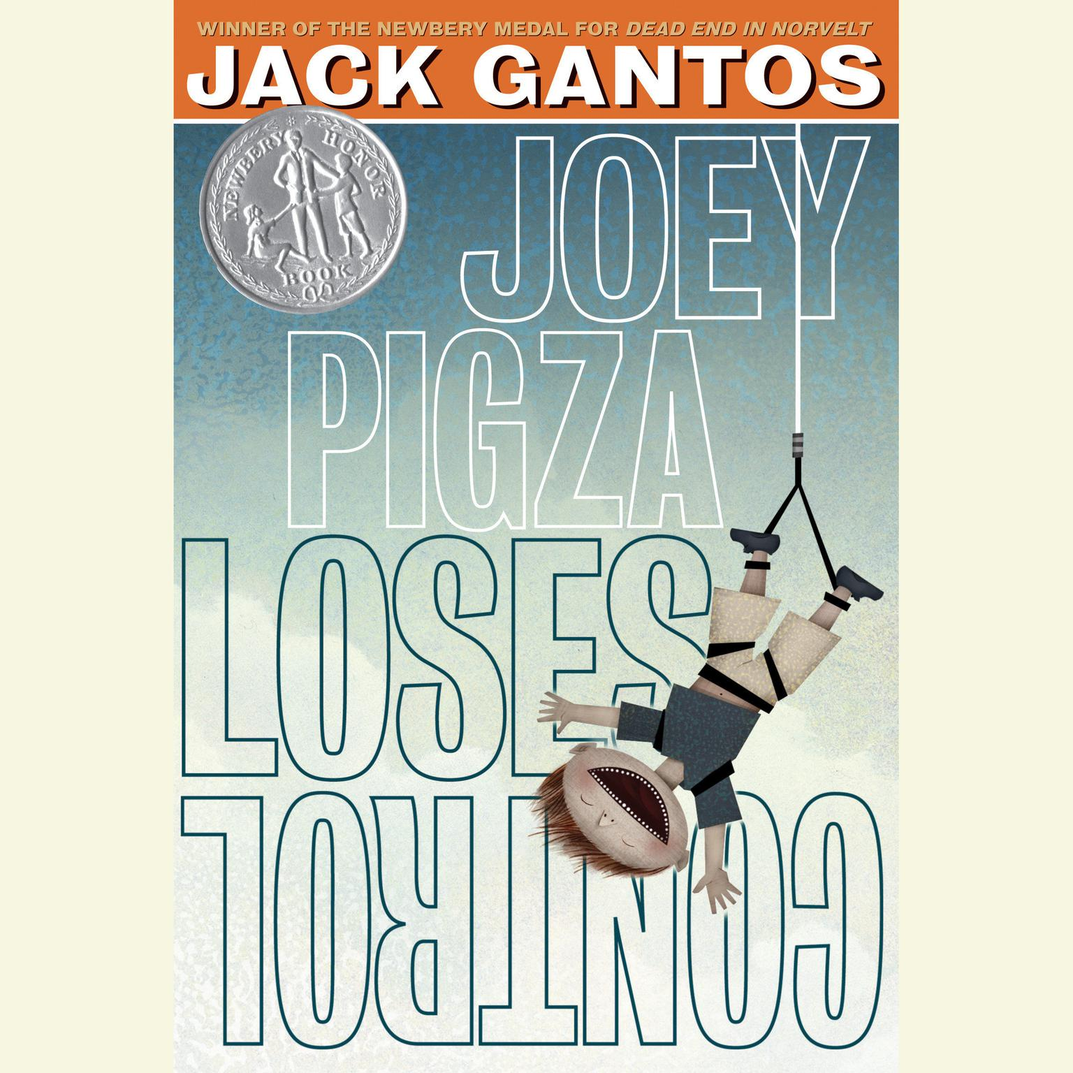 Printable Joey Pigza Loses Control Audiobook Cover Art