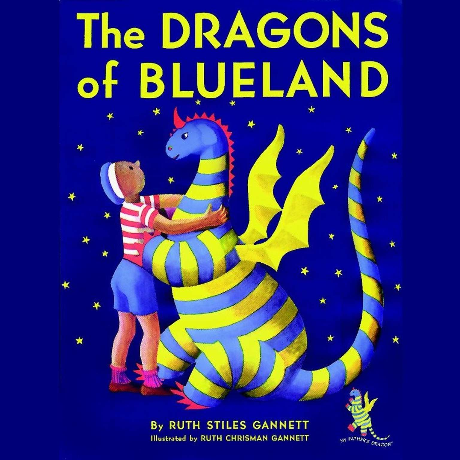 Printable The Dragons of Blueland Audiobook Cover Art