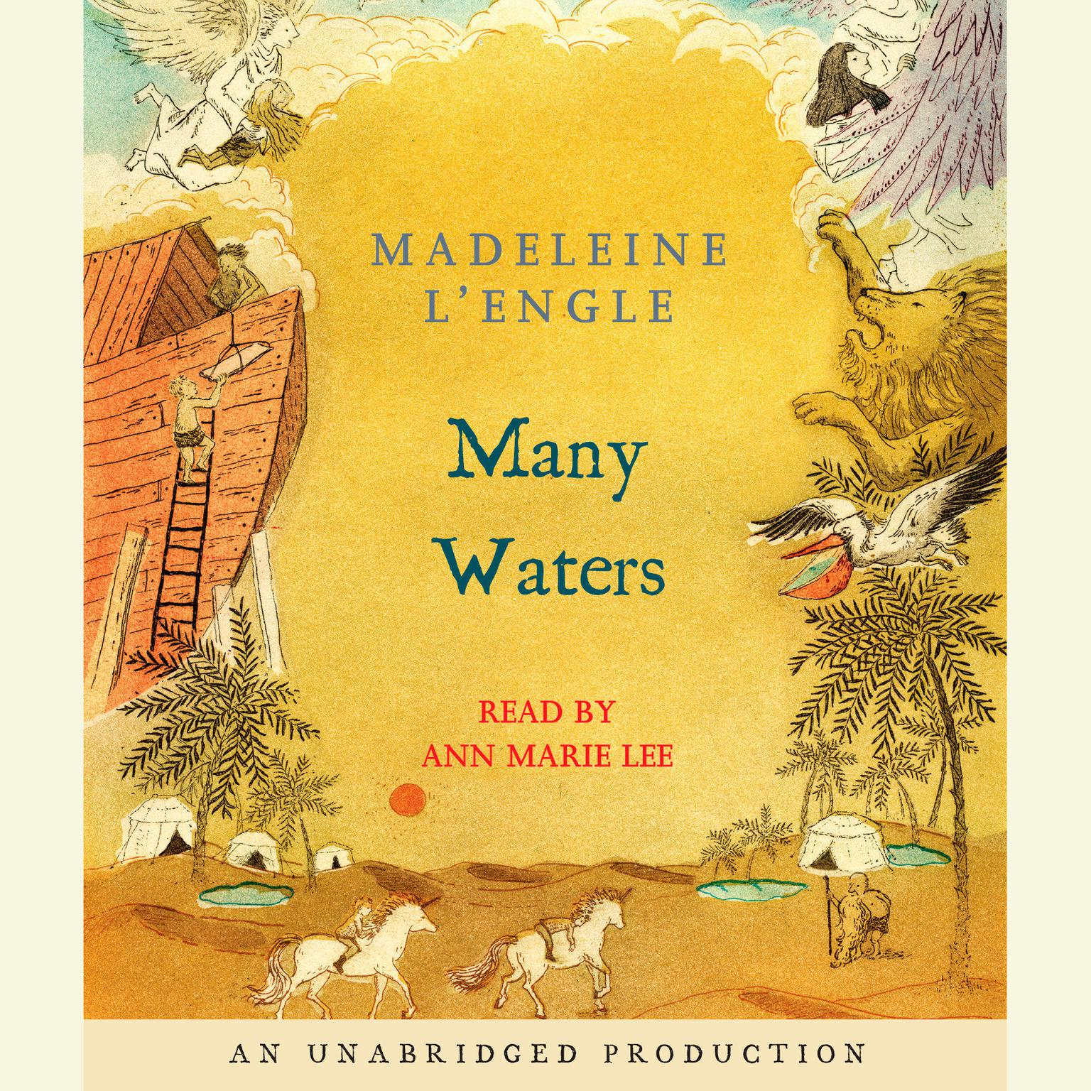 Printable Many Waters Audiobook Cover Art