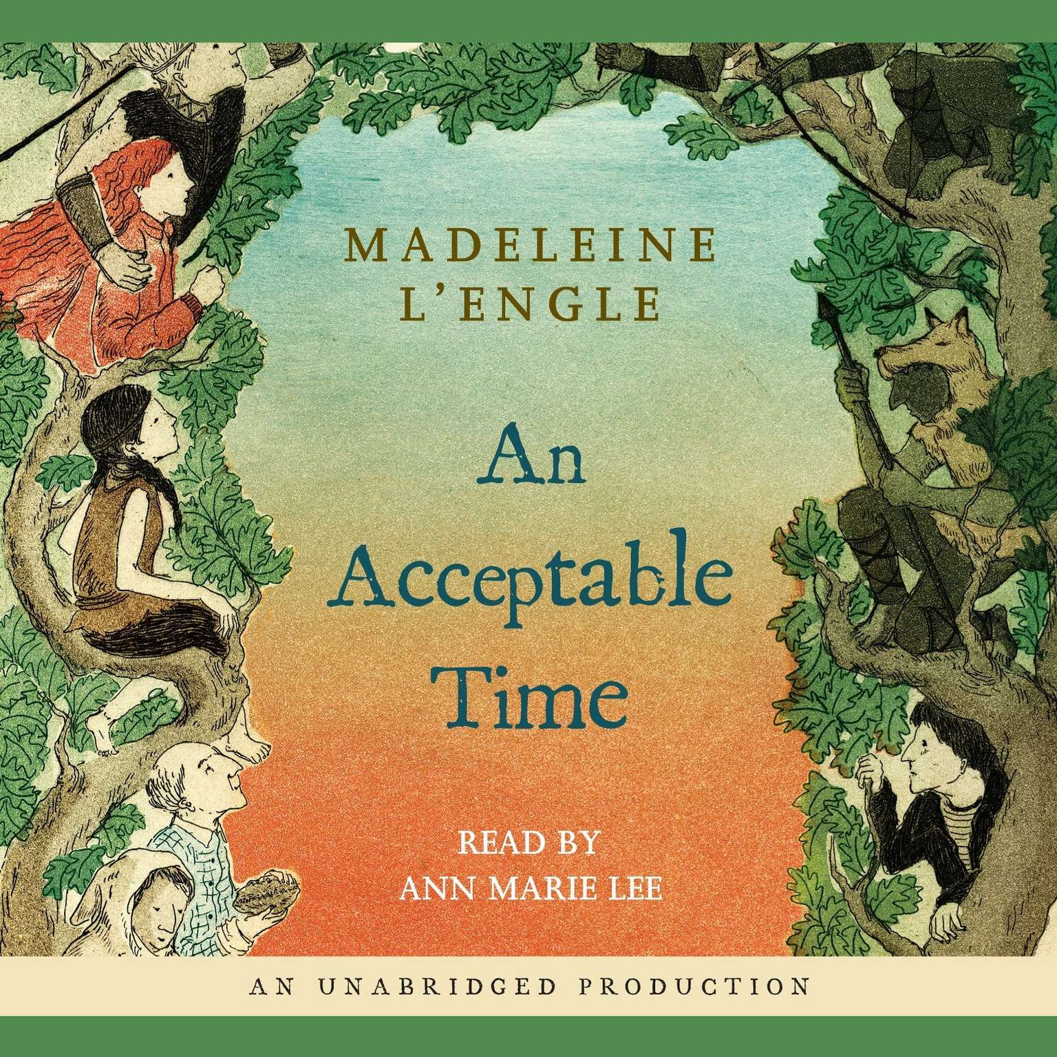 Printable An Acceptable Time Audiobook Cover Art