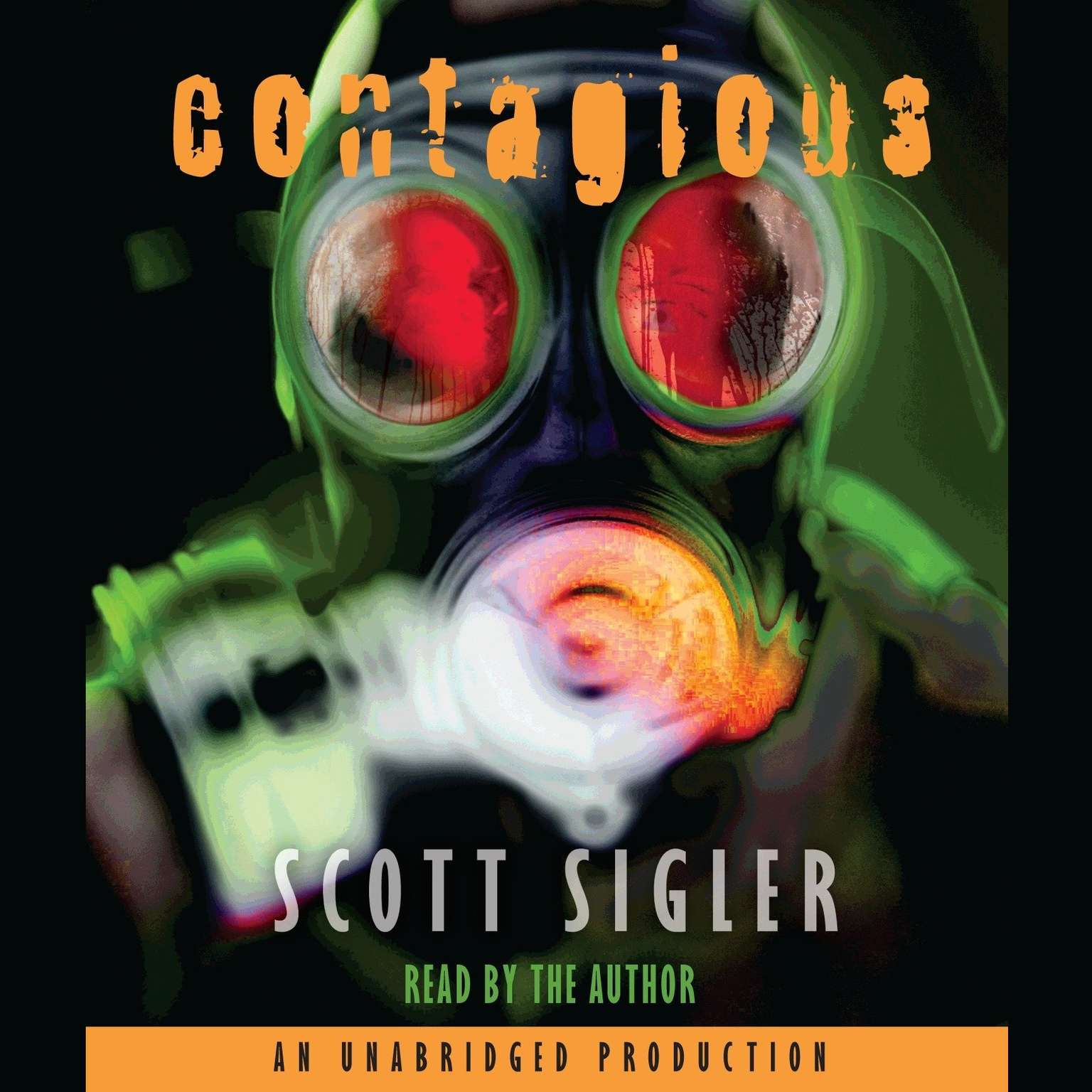 Printable Contagious Audiobook Cover Art