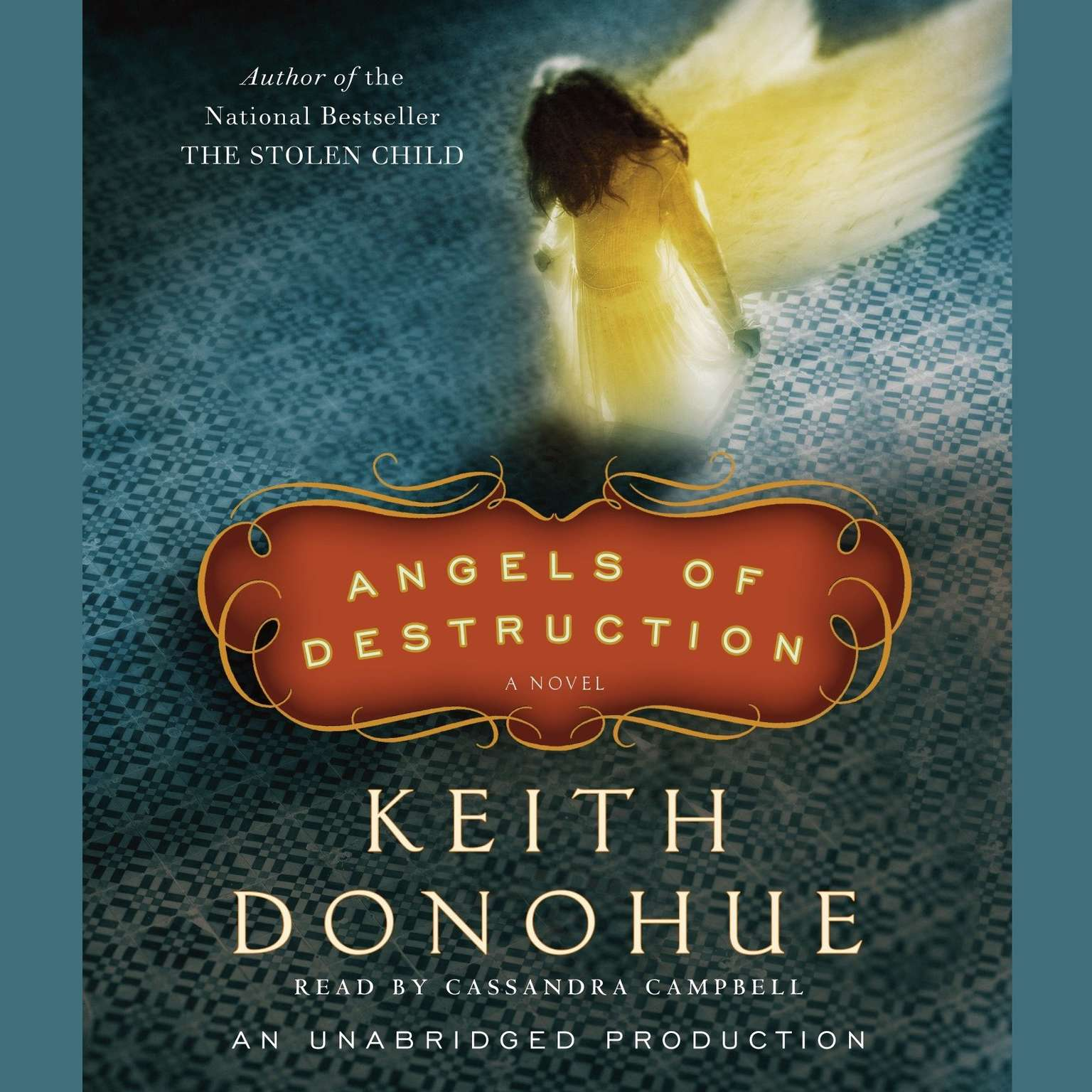 Printable Angels of Destruction: A Novel Audiobook Cover Art